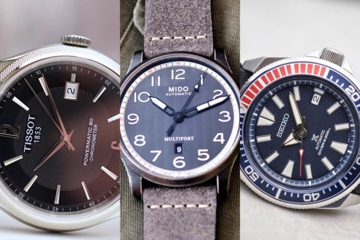 Buying guide automatic watches under 1000 Euros