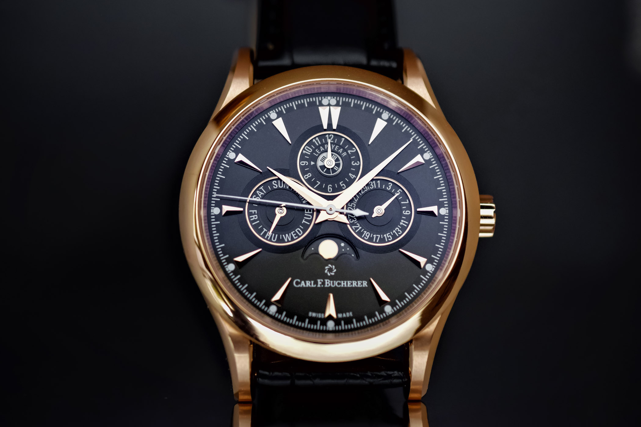Carl F. Bucherer Manero Perpetual Limited Edition