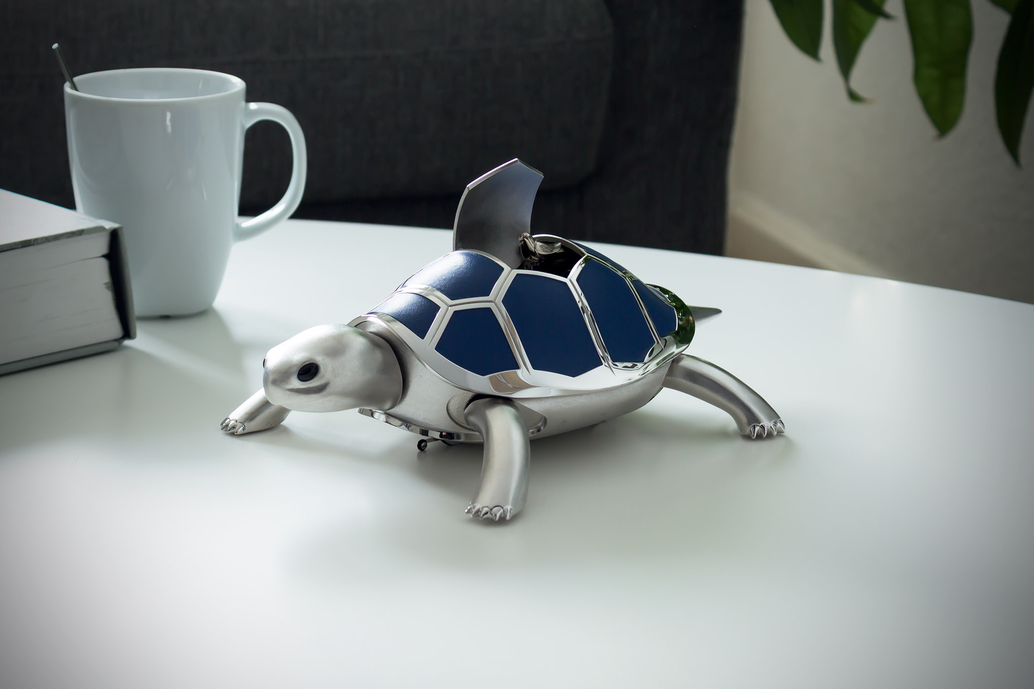 Mb&F Kelys and Chirp - mechanical walking turtle with singing bird - Pre-SIHH 2018
