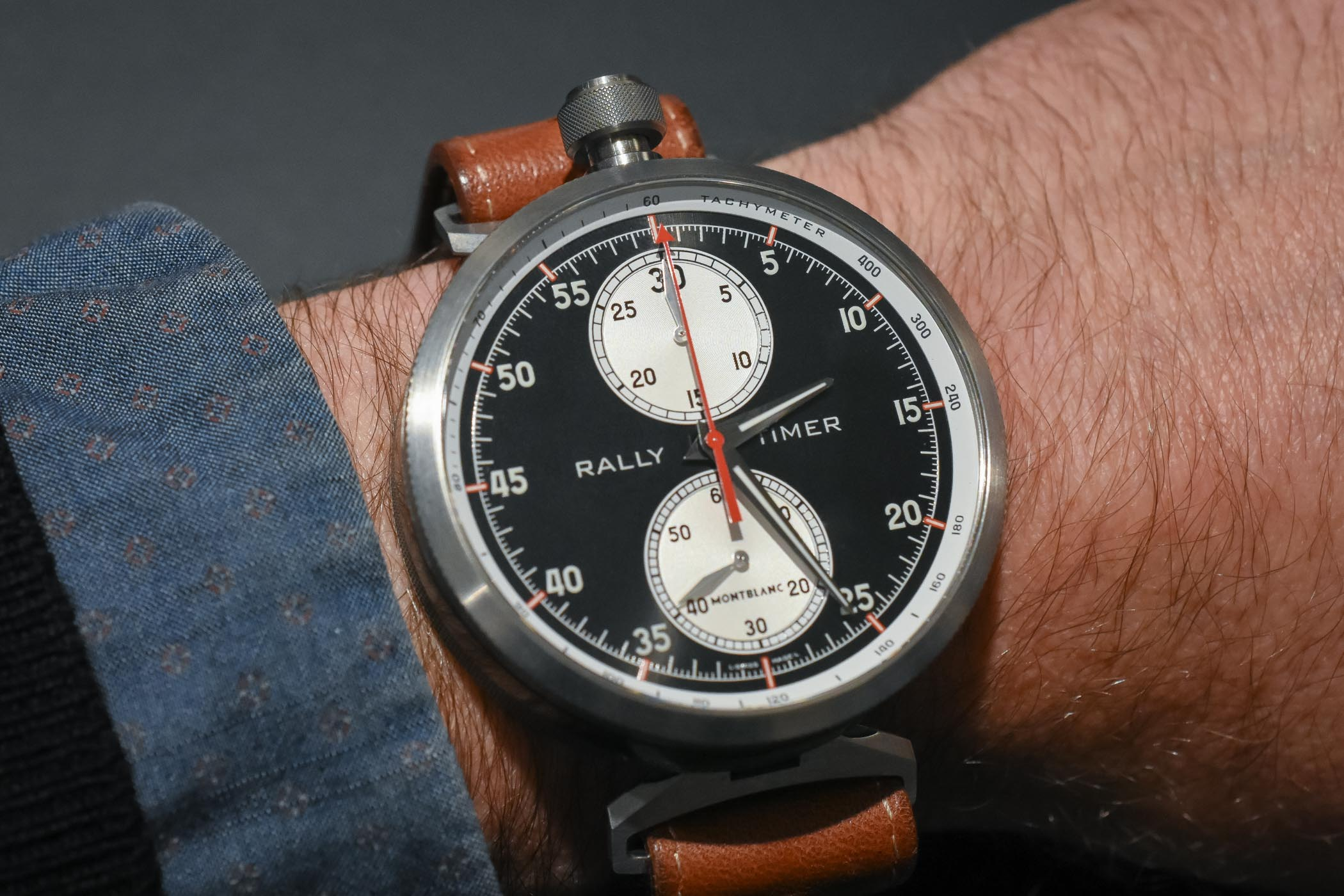 Montblanc Timewalker Rally Timer Chronograph Limited