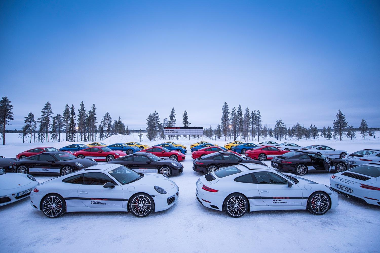 Porsche Driving Experience Winter