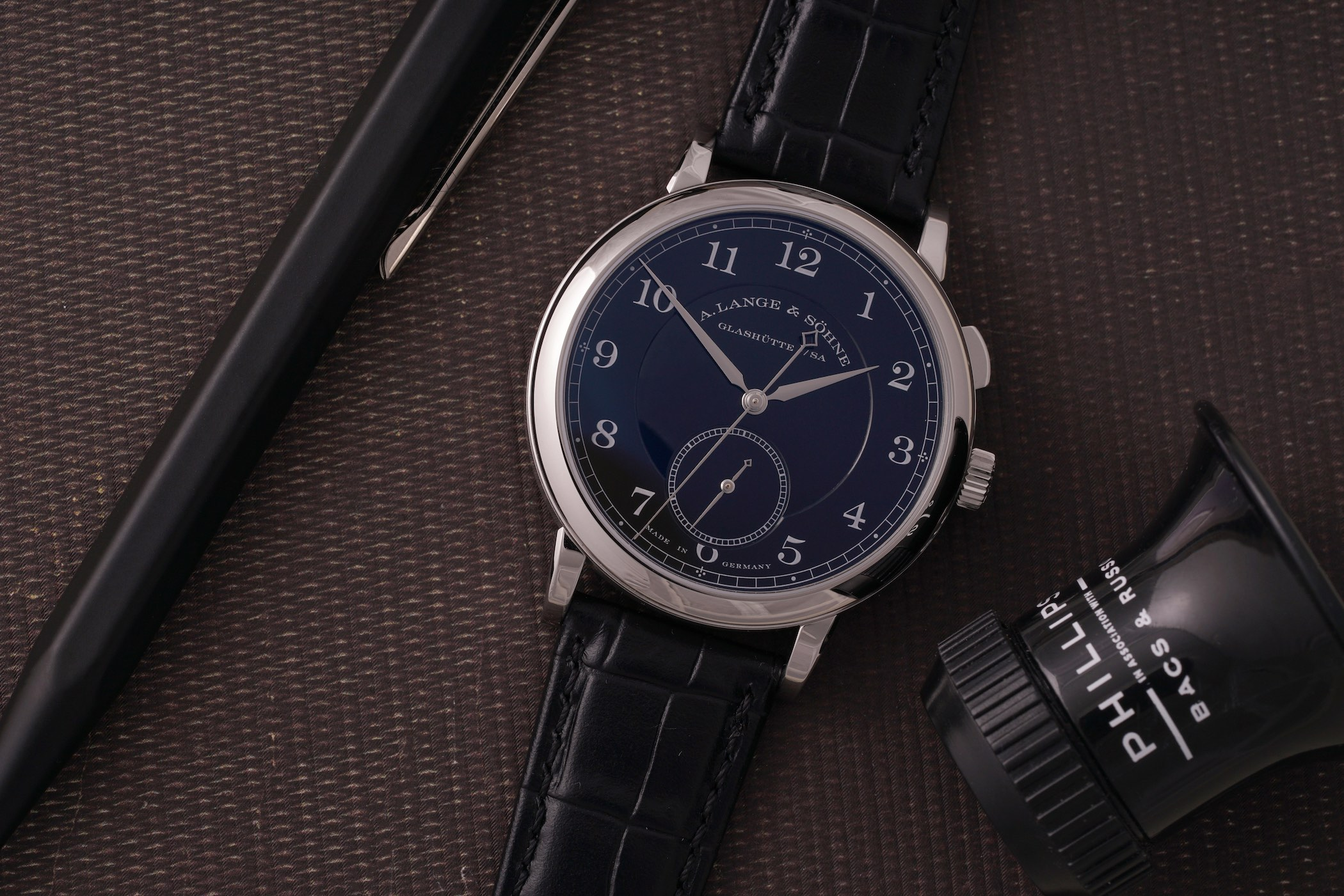 Phillips Watches to Auction the Unique A Lange & Söhne 1815 Homage