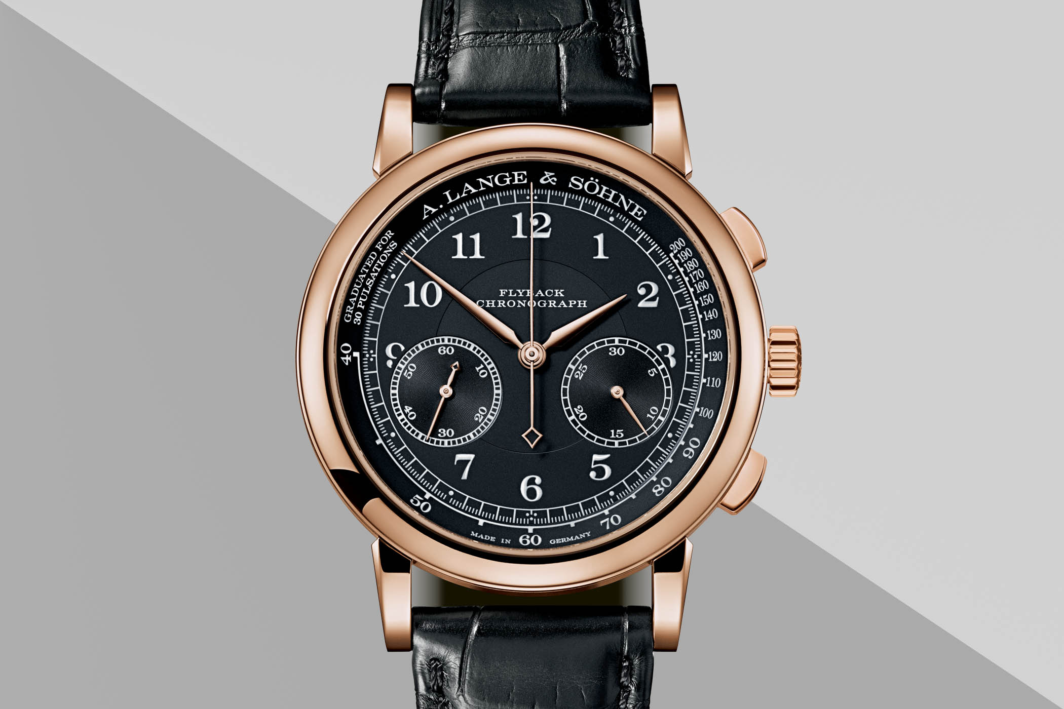 A. Lange and Sohne 1815 Chronograph Rose Gold