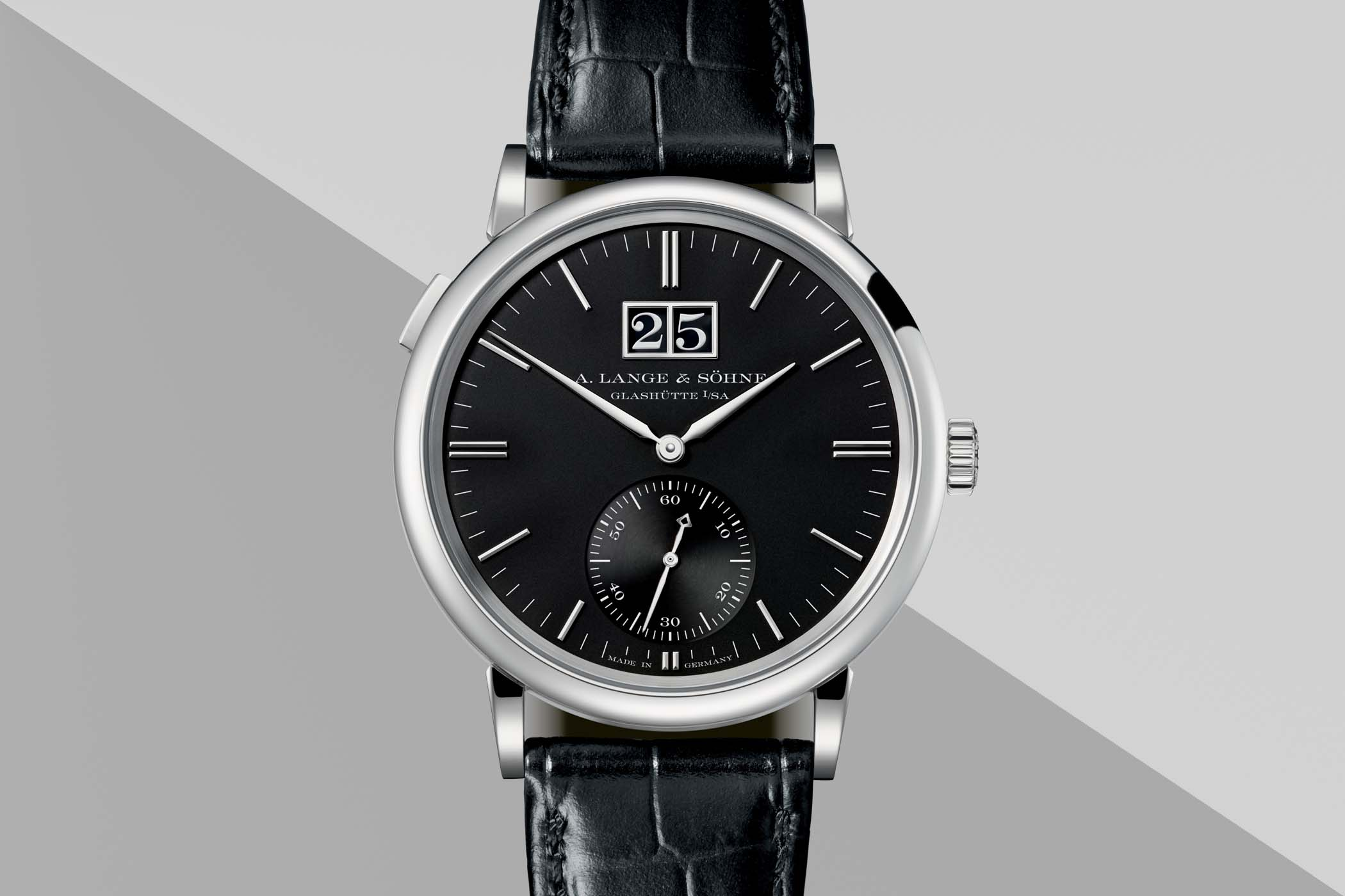 A. Lange and Sohne outsize Date ALS_381_032 - SIHH 2018