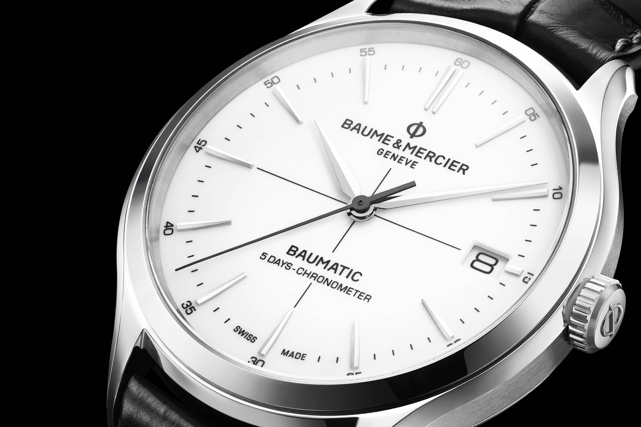 Baume Mercier Baumatic Clifton first proprietary movement