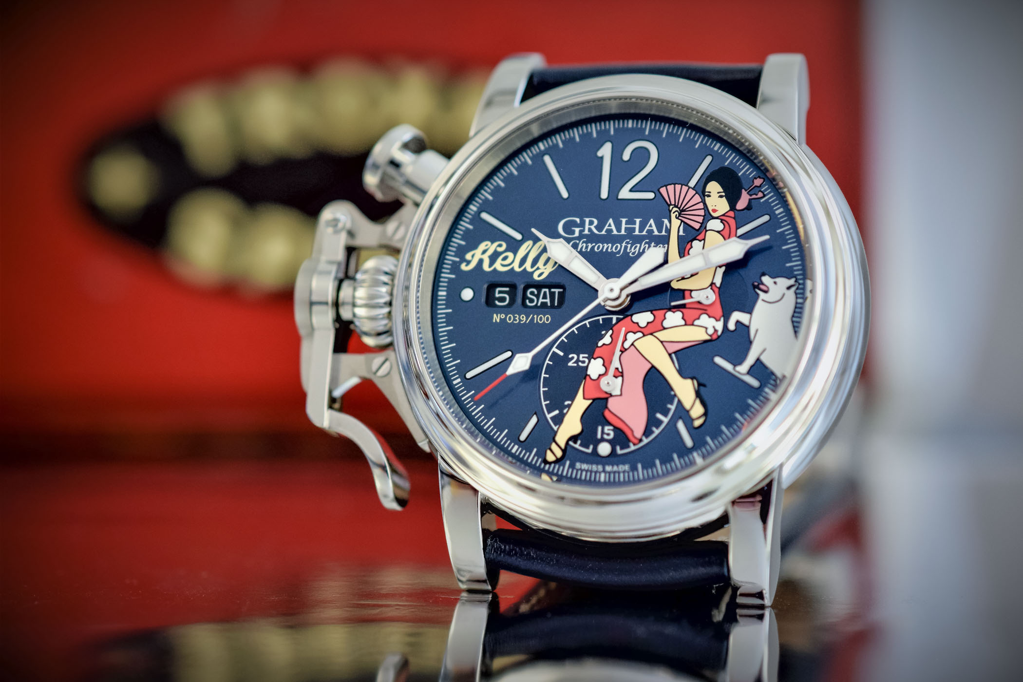 ltd hands chronofighter specs vintage watches nose graham price on pinups art review