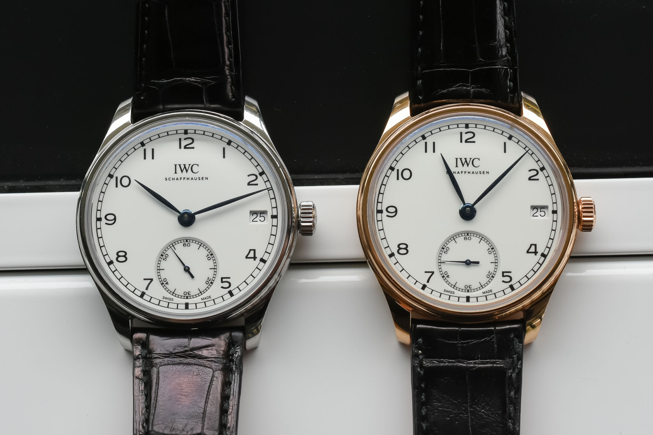 IWC Portugieser Hand-Wound Eight Days Edition 150 Years ...