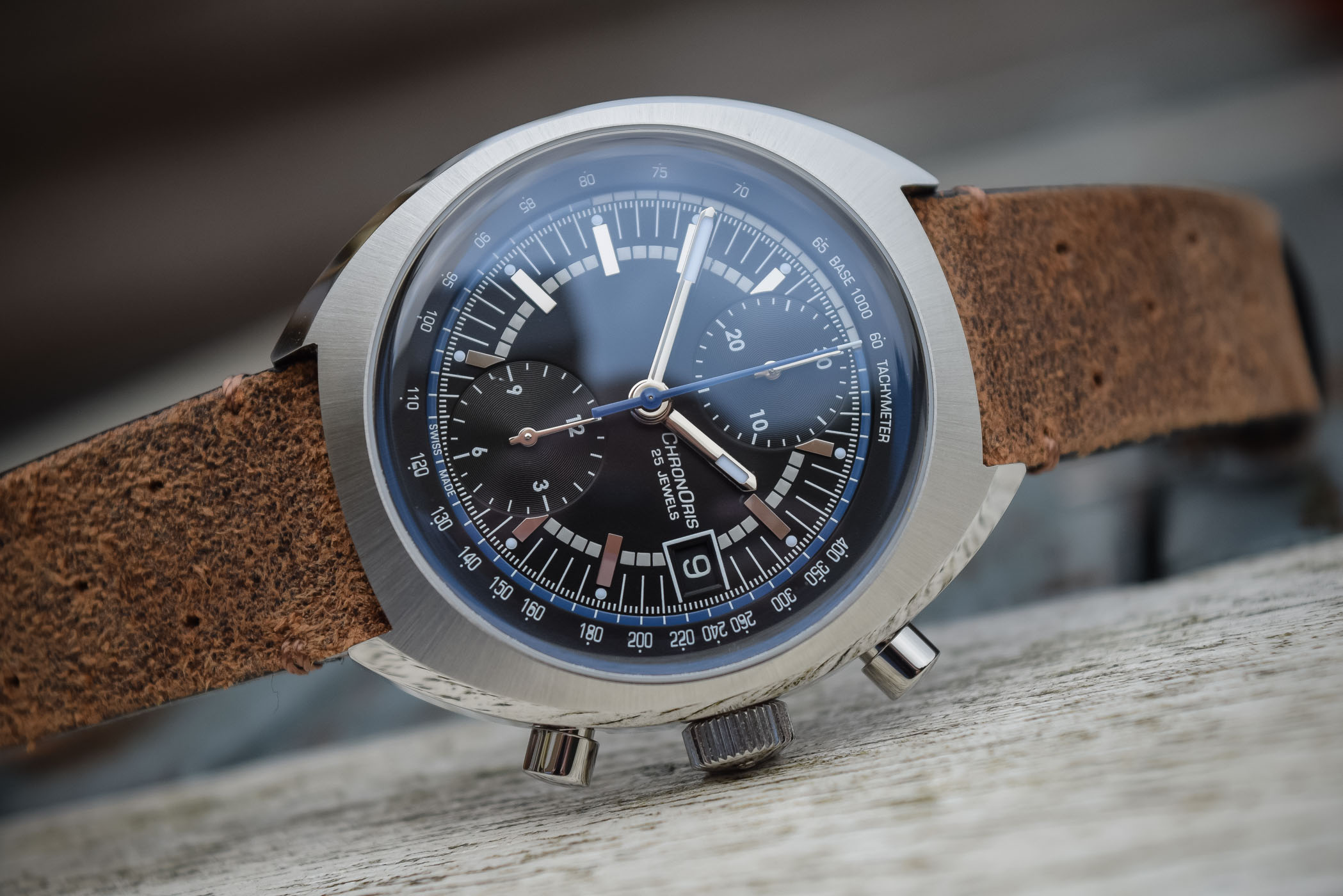 Oris Chronoris Williams 40th Anniversary Limited