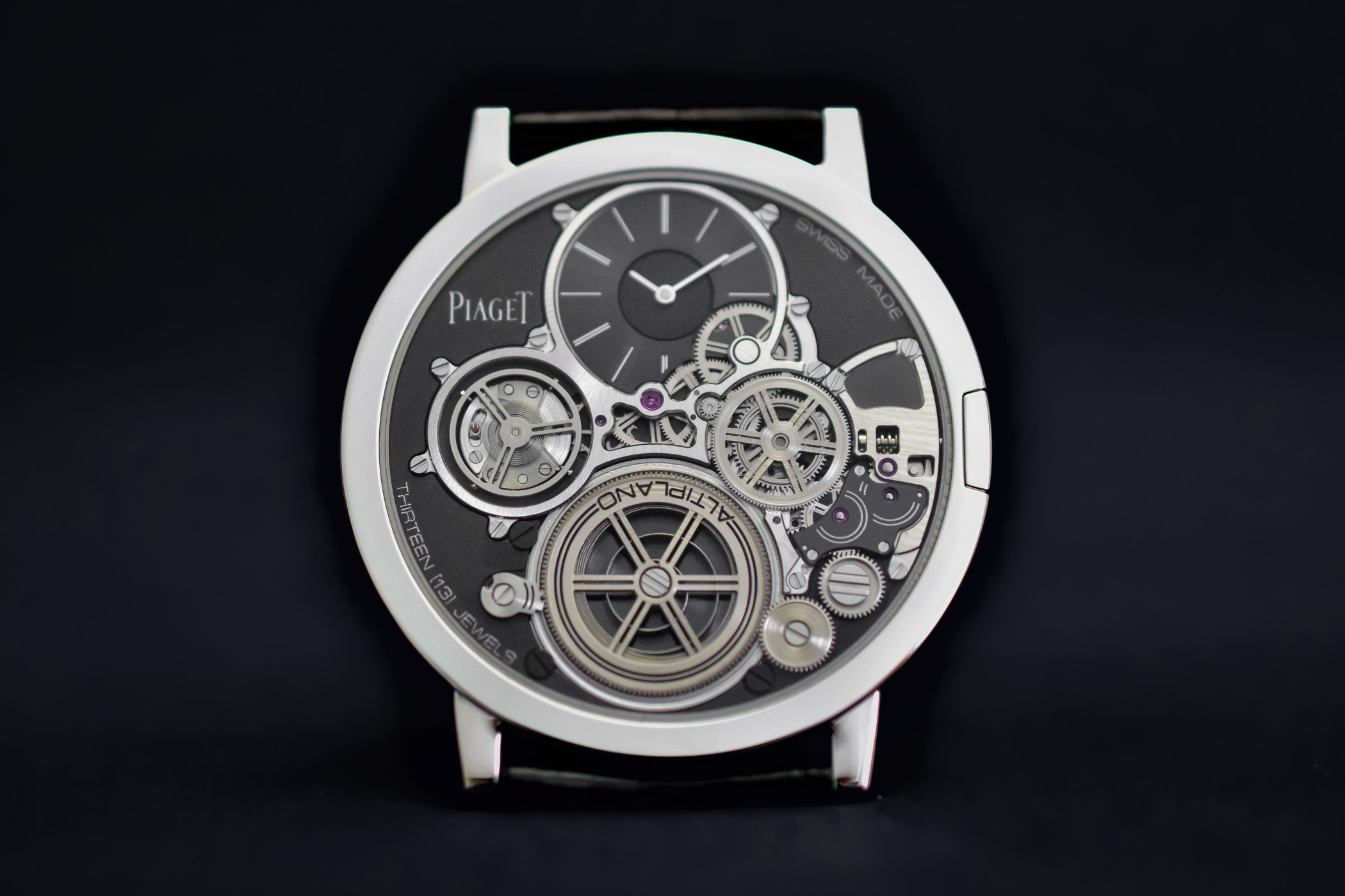 Piaget Altiplano Ultimate Concept - thinnest mechanical watch in the world 2mm