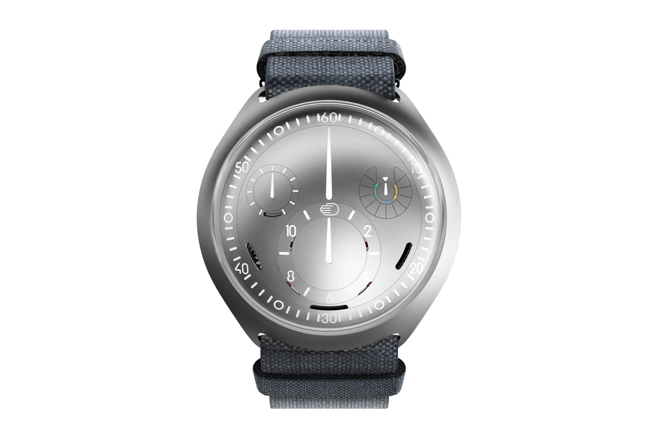 Ressence Type 2 E-Crown - first self-setting mechanical watch