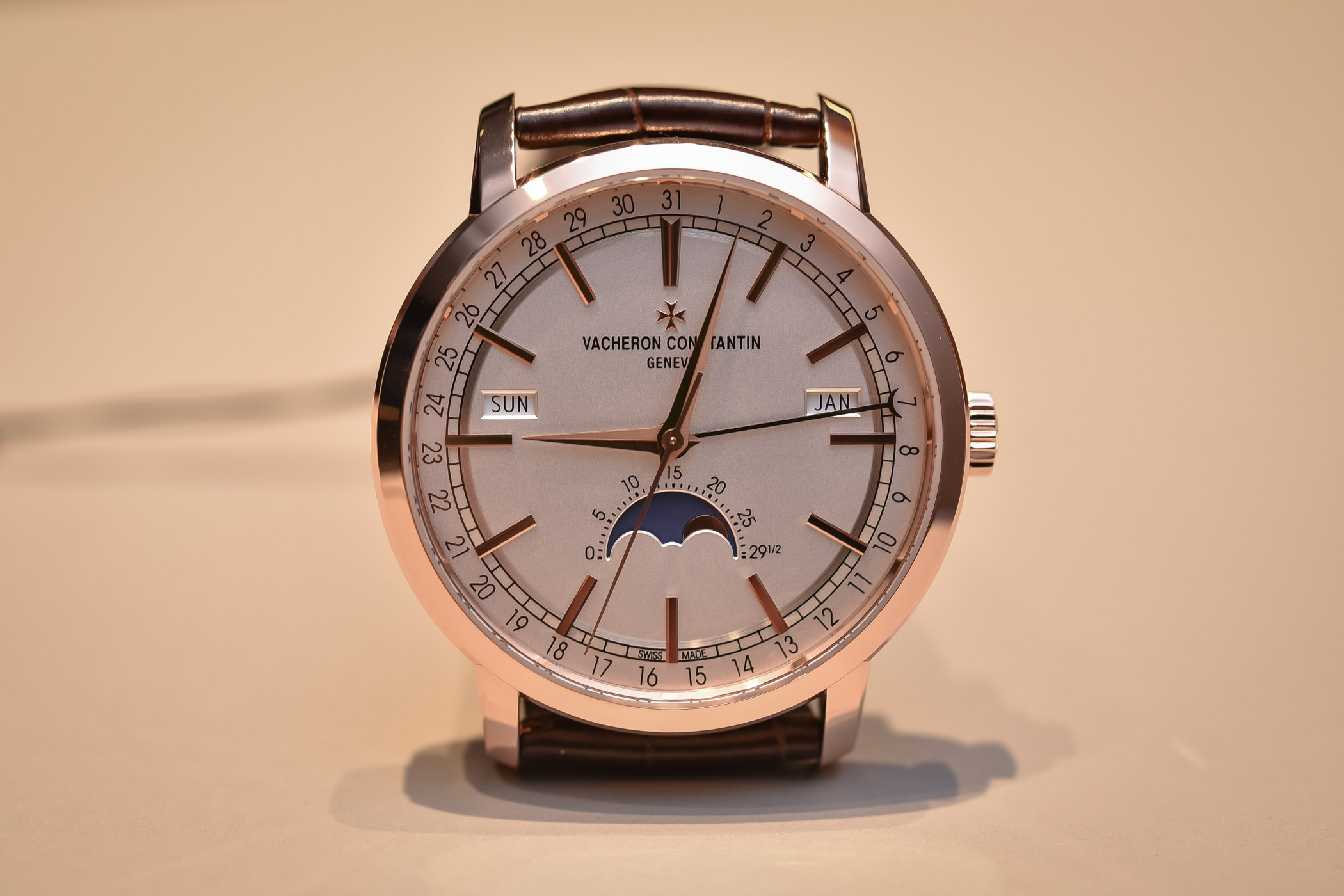 Vacheron Constantin Traditionnelle Complete Calendar Rose Gold SIHH 2018