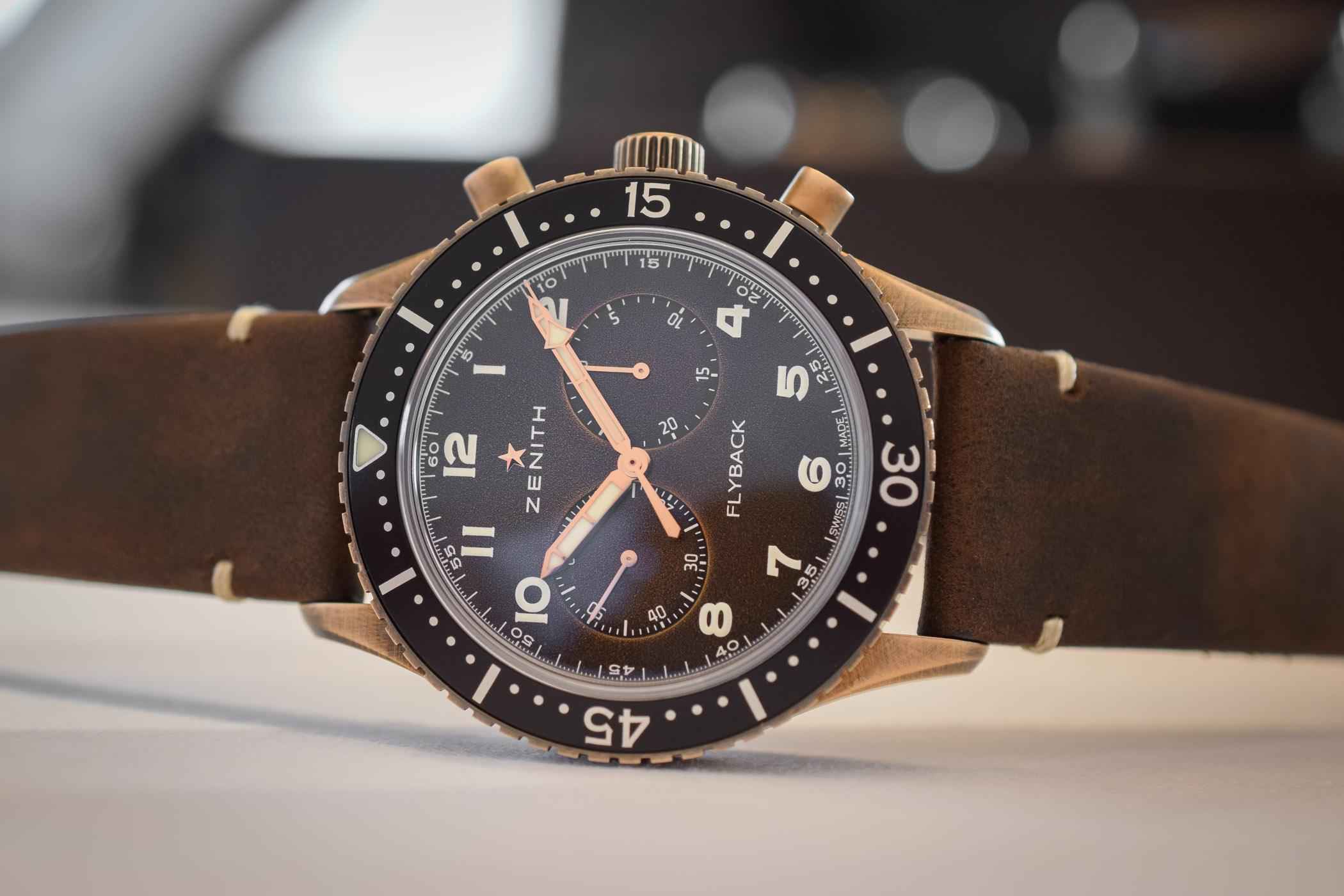 Zenith Pilot Cronometro Tipo CP-2 Flyback Bronze