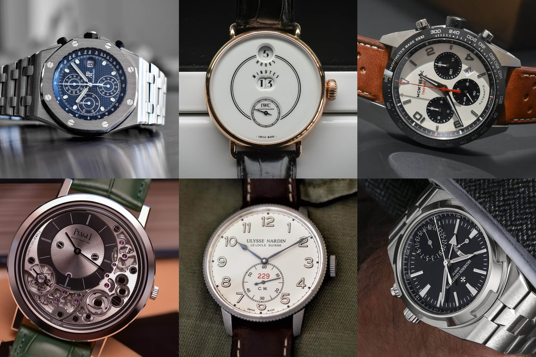 new watches SIHH 2018