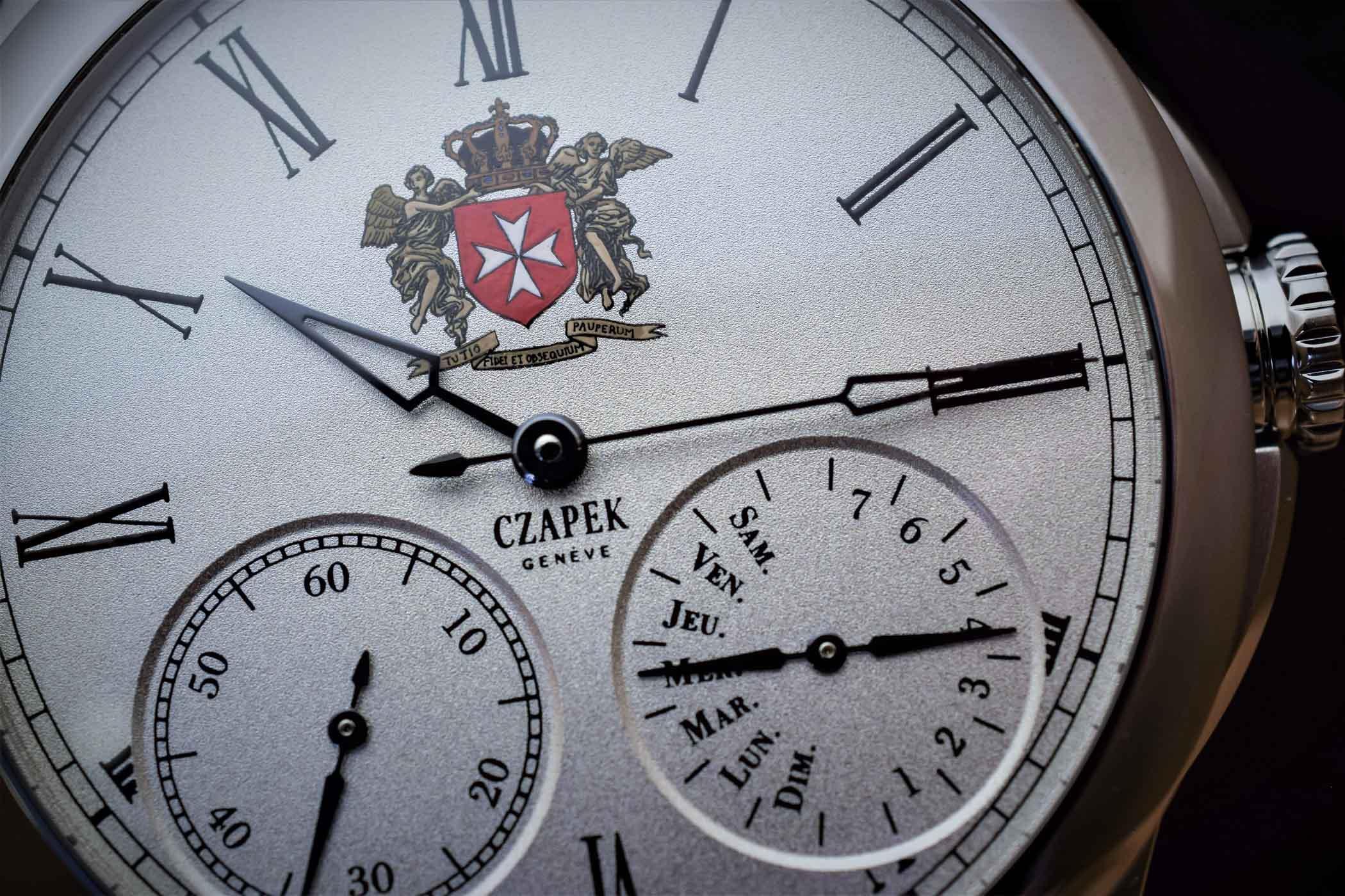 Czapek Quai des Bergues Order of Malta Special Edition