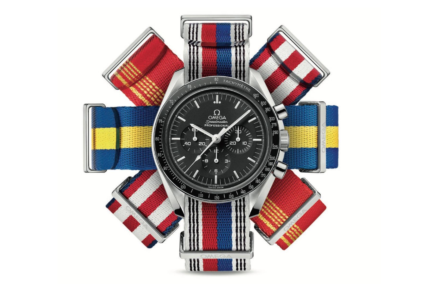 Omega NATO straps Olympic Games
