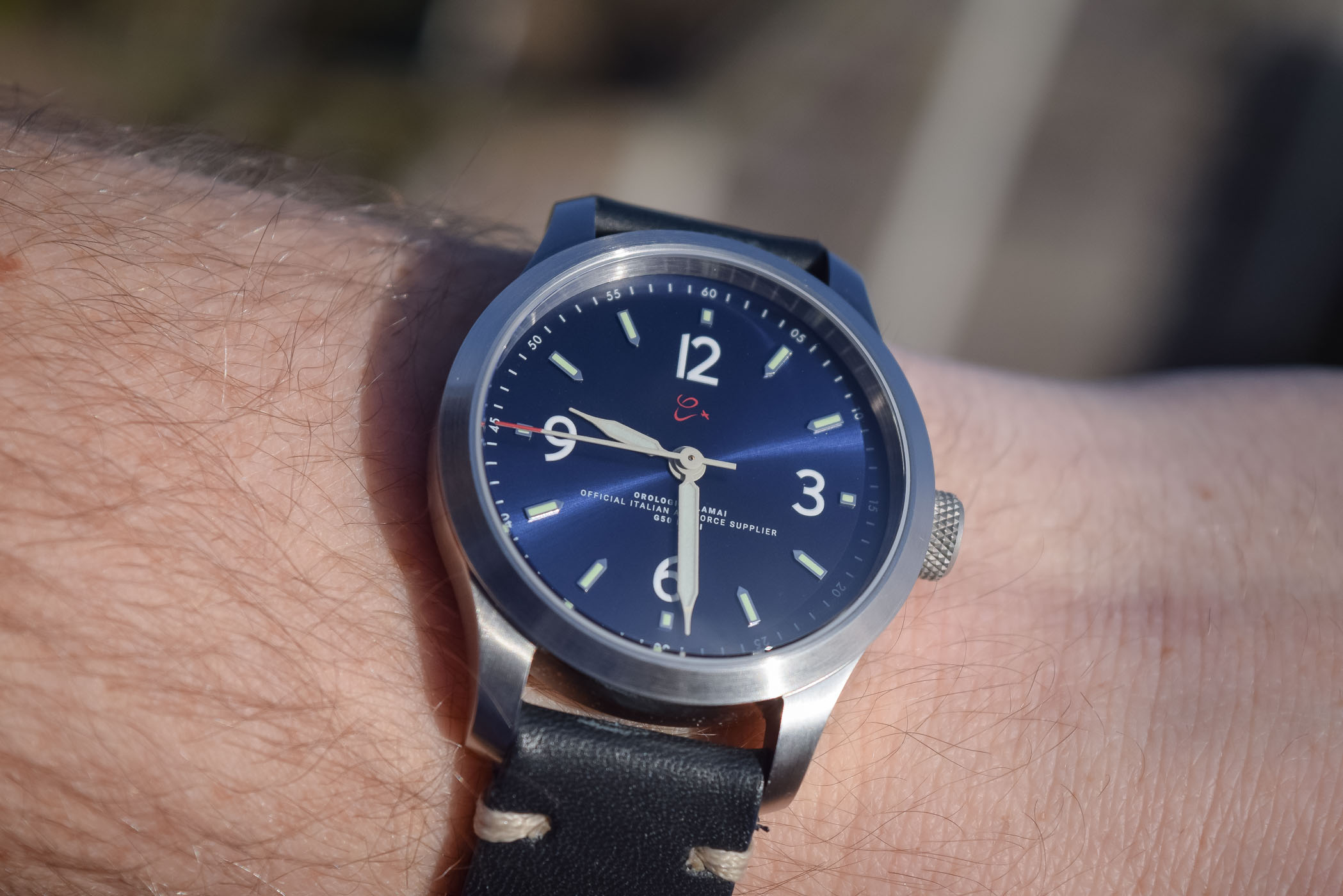 orologi calamai g50 mkiii solotempo pilot watch review