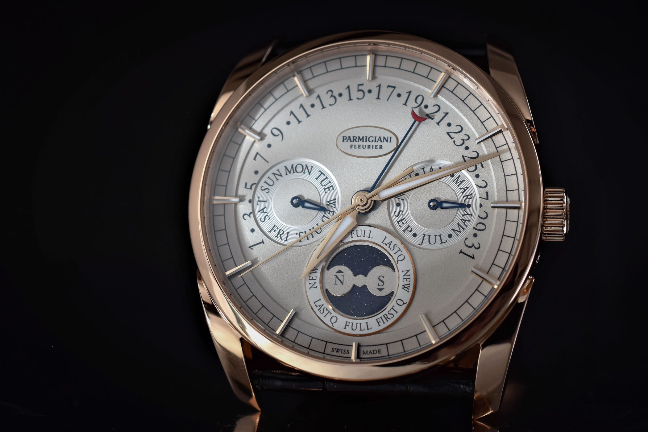 philippe complications box papers chronograph patek annual platinum watches watch calendar