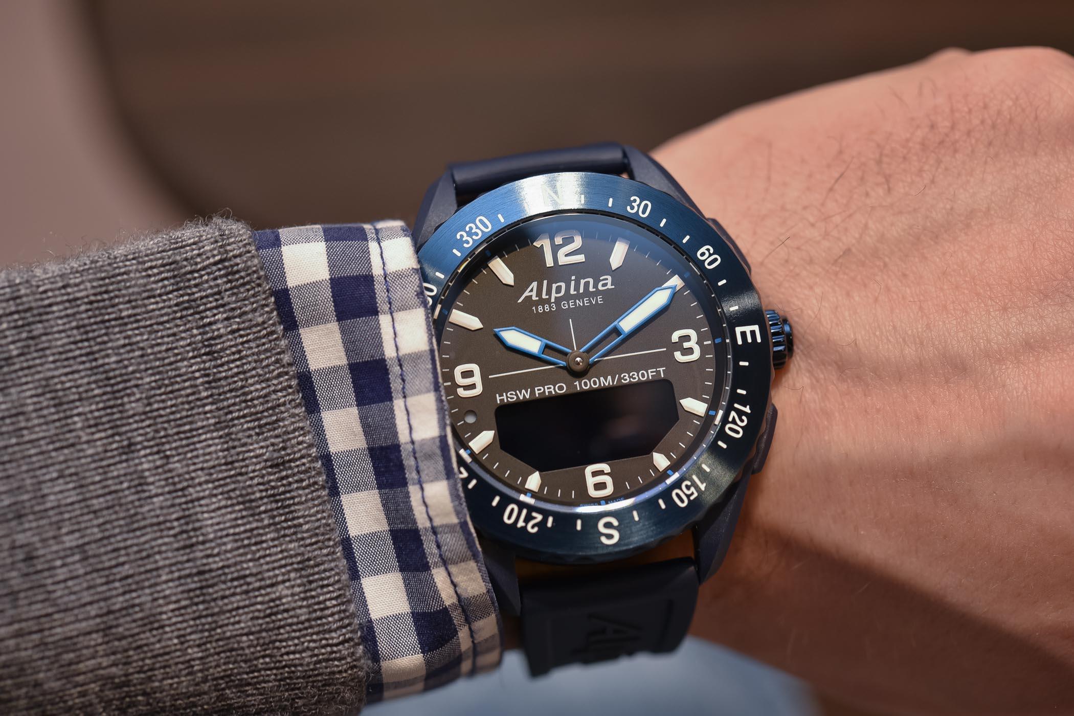 Alpina AlpinerX Smartwatch kickstarter