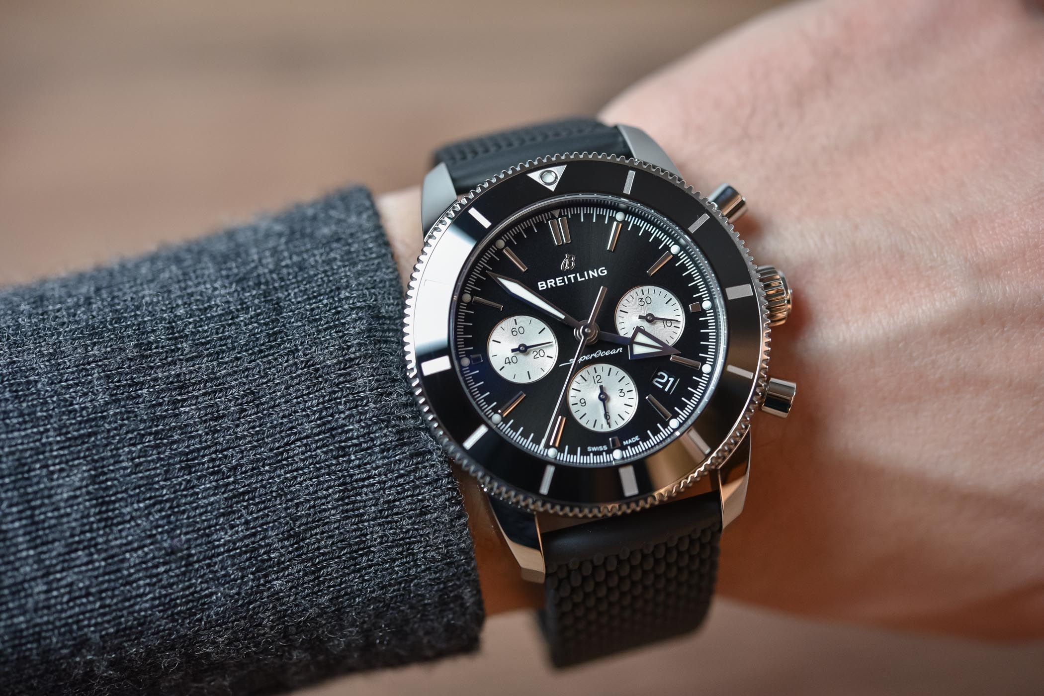 Best Dive Watches Baselworld 2018 - BREITLING SUPEROCEAN HERITAGE II B01 CHRONOGRAPH 44
