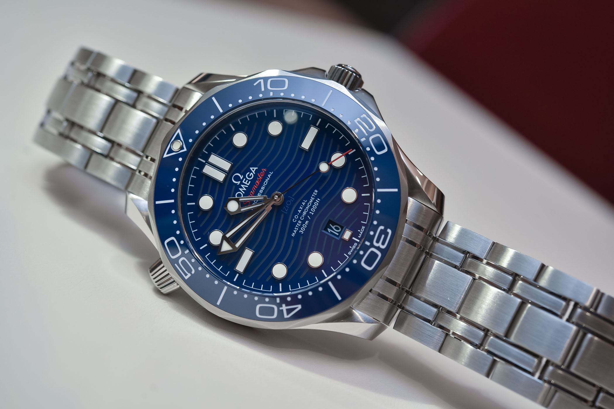 Best Dive Watches Baselworld 2018 - OMEGA SEAMASTER DIVER 300M