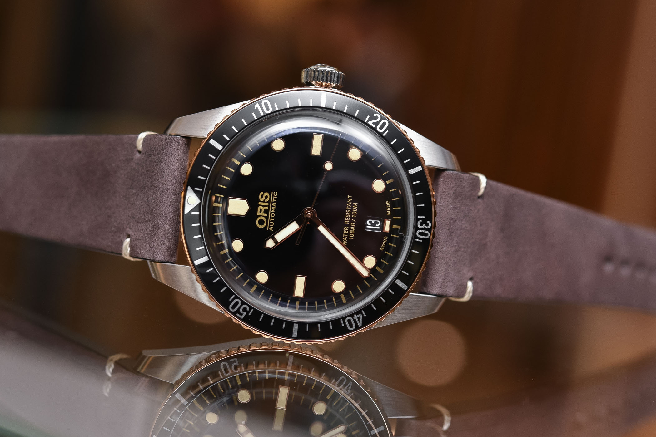 Best Dive Watches Baselworld 2018 - ORIS DIVERS SIXTY FIVE STEEL-AND-BRONZE
