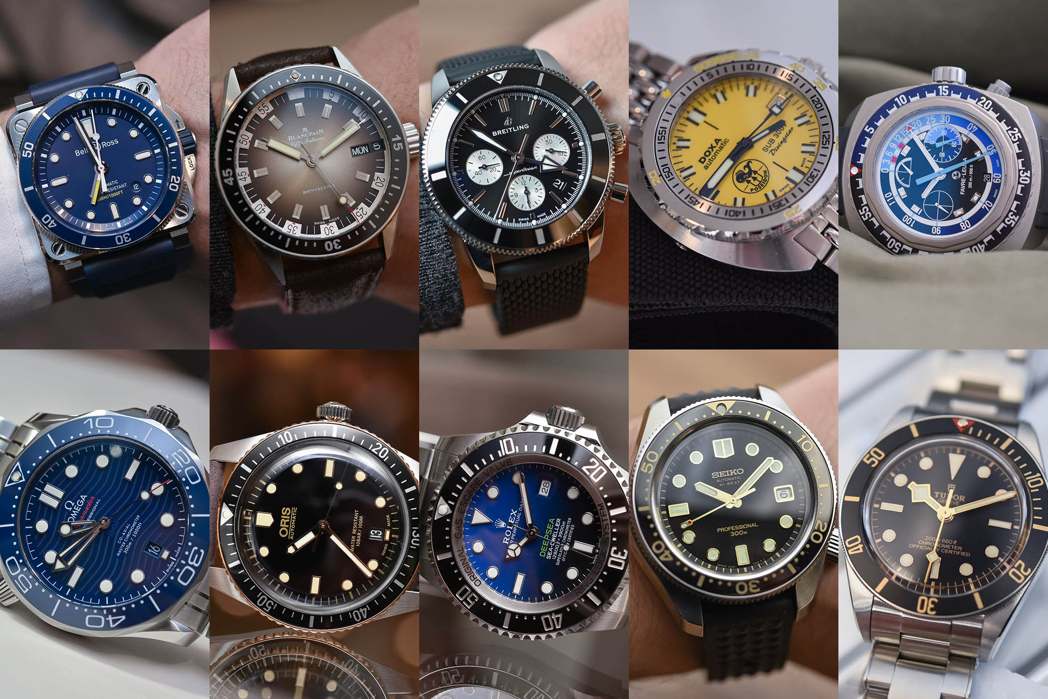 Best Dive Watches Baselworld 2018 - buying guide