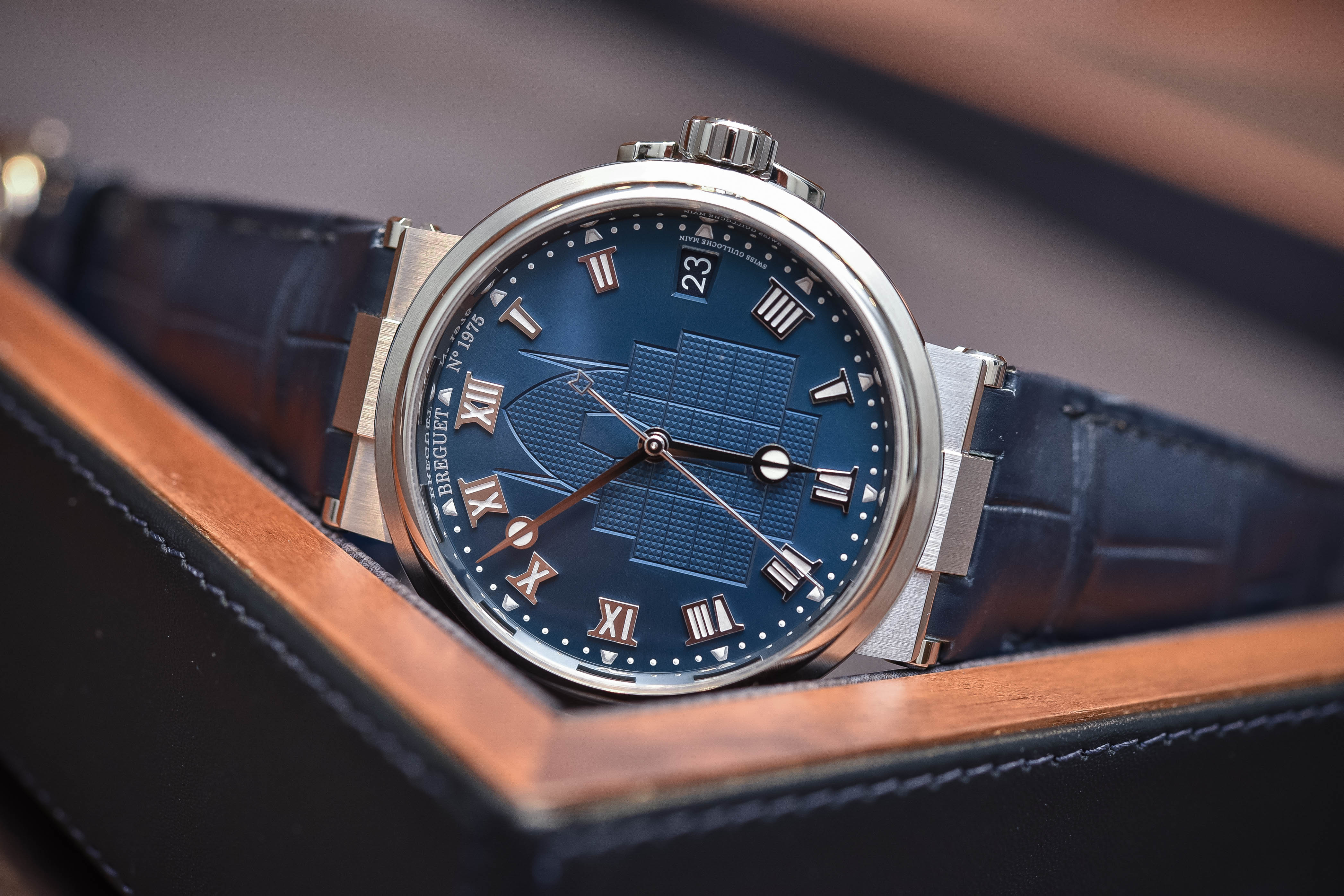 Breguet Marine 5517 The race for water special edition