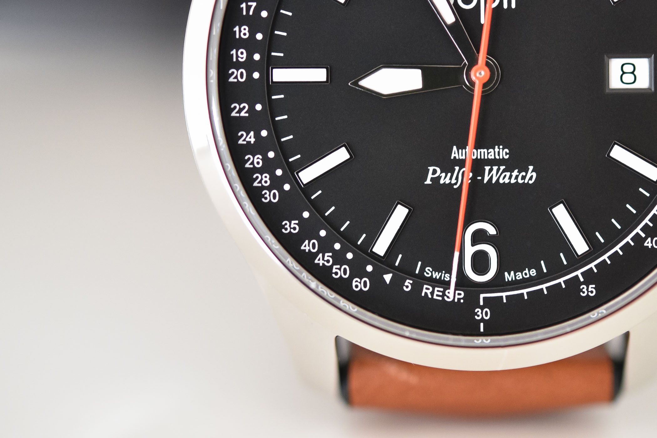 Doplr Pulse-Watch - doctor's watch pulsation dial