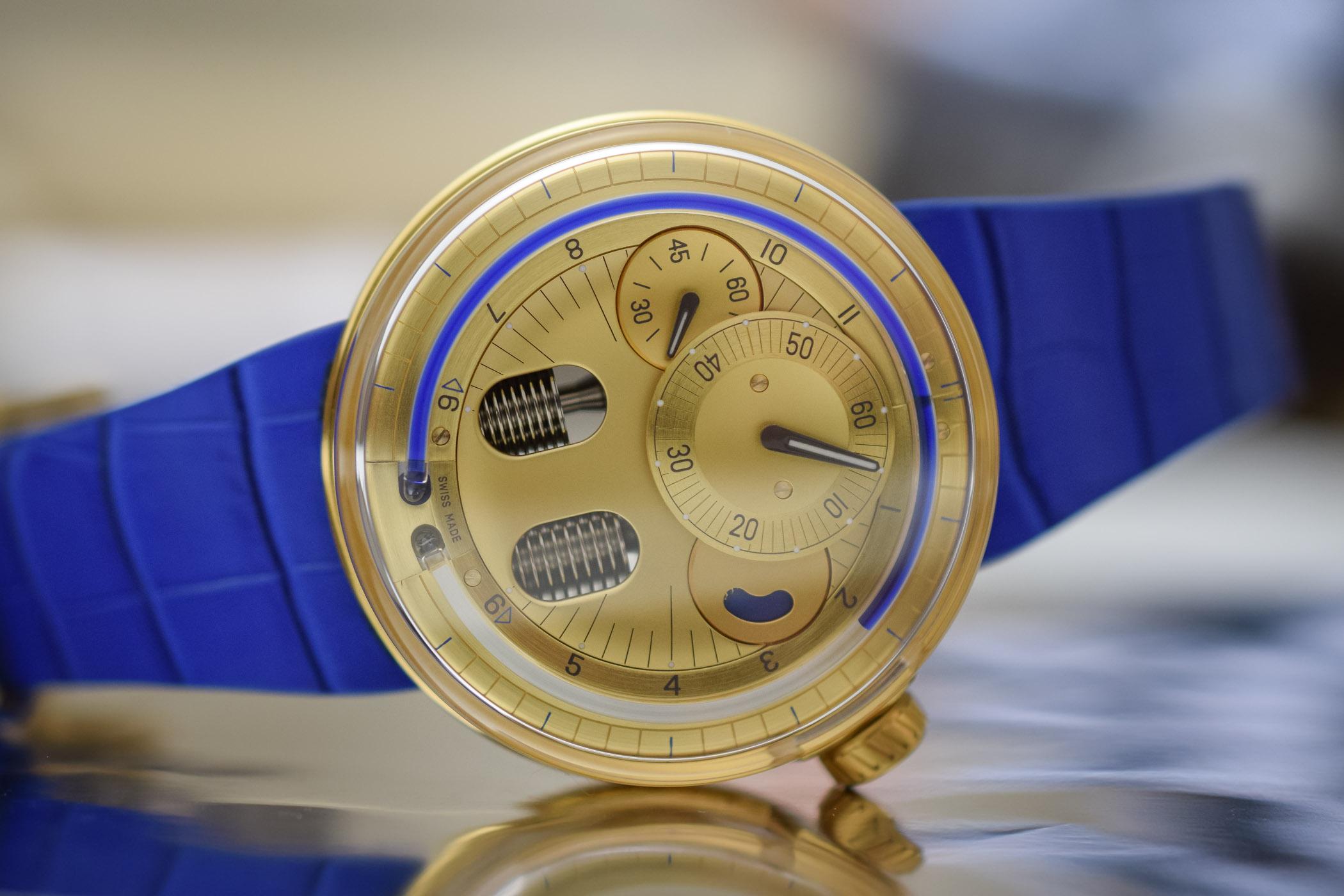 HYT H0 Gold Blue Fluid