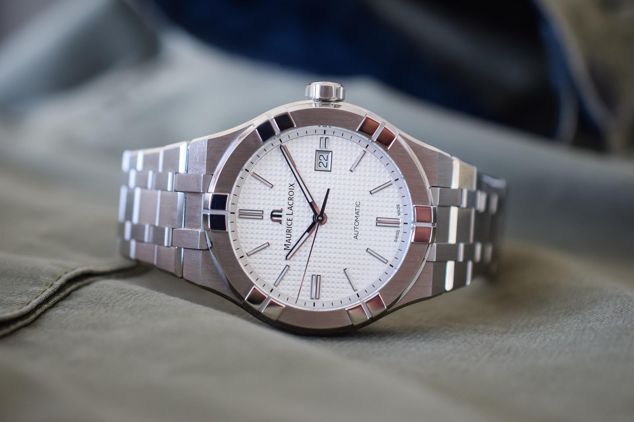 Maurice Lacroix Aikon Automatic chronograph - Baselworld 2018 - 13