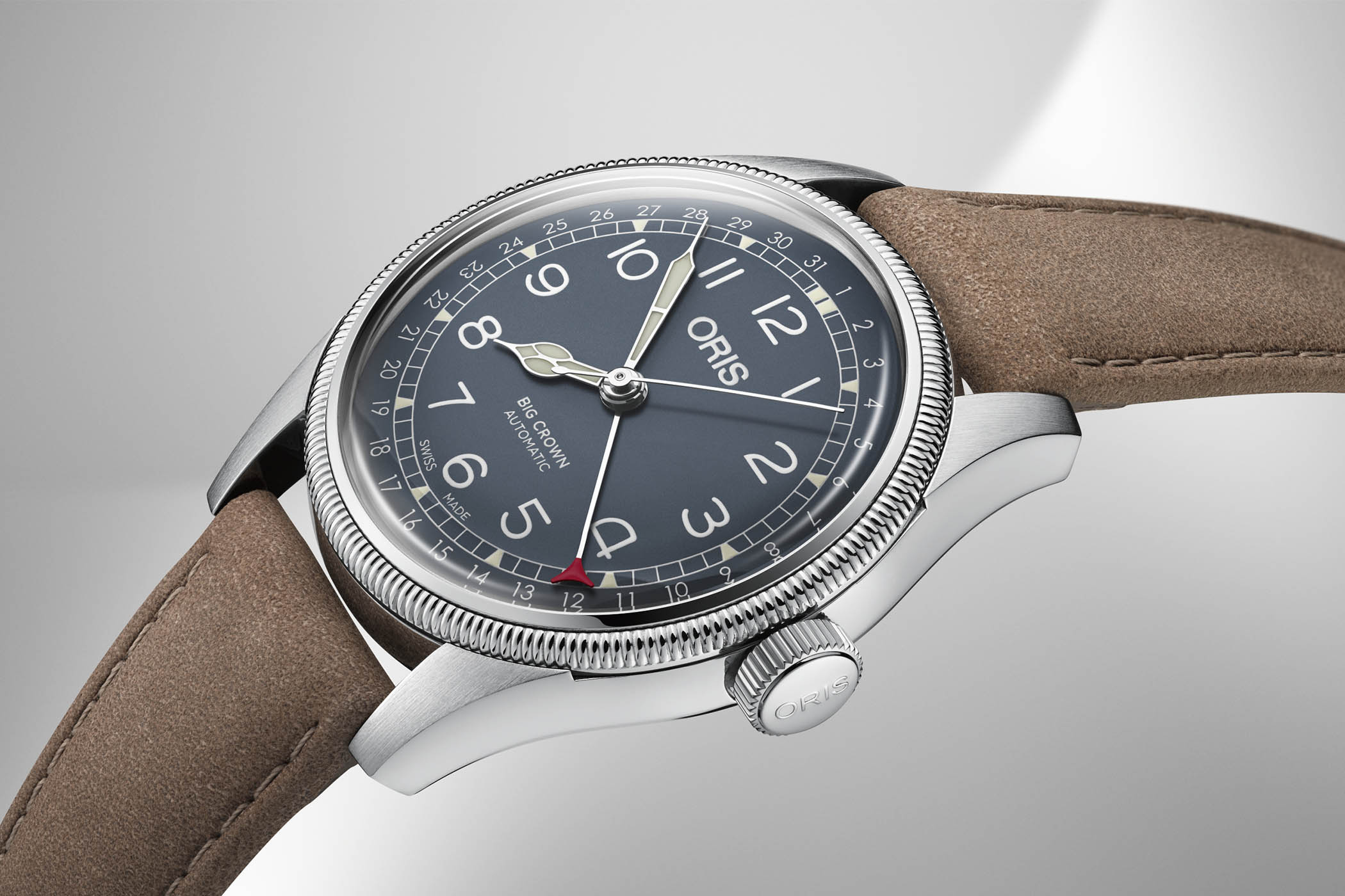 Oris Big Crown Pointer Date steel - Baselworld 2018