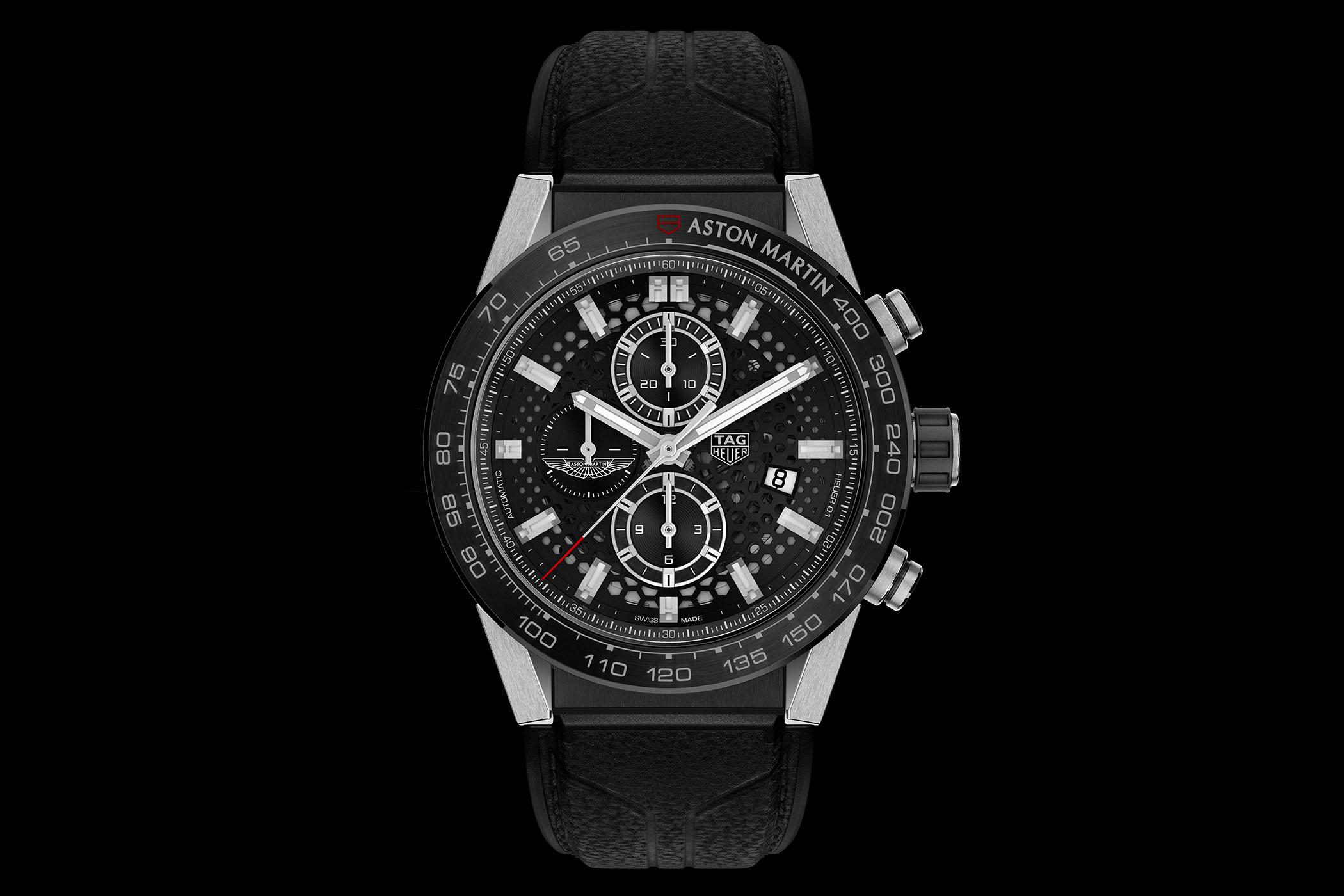 Aston Martin Second Hand >> The TAG Heuer Carrera Heuer 01 Aston Martin - Monochrome Watches