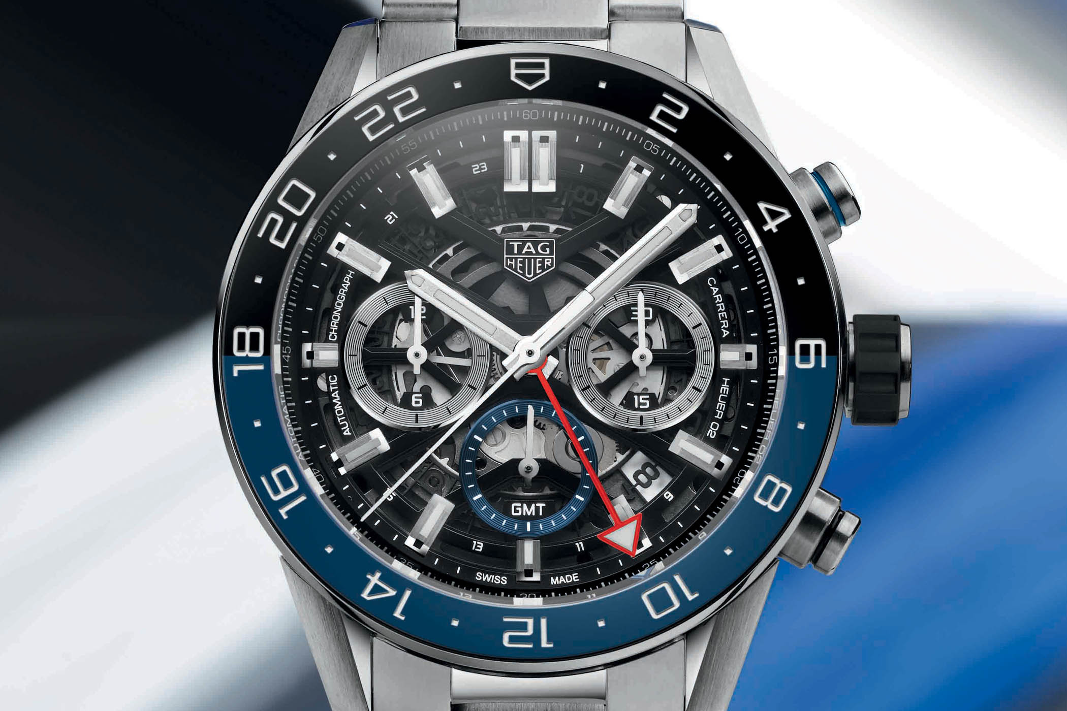 This Tag: TAG Heuer Carrera Heuer 02 GMT Chronograph