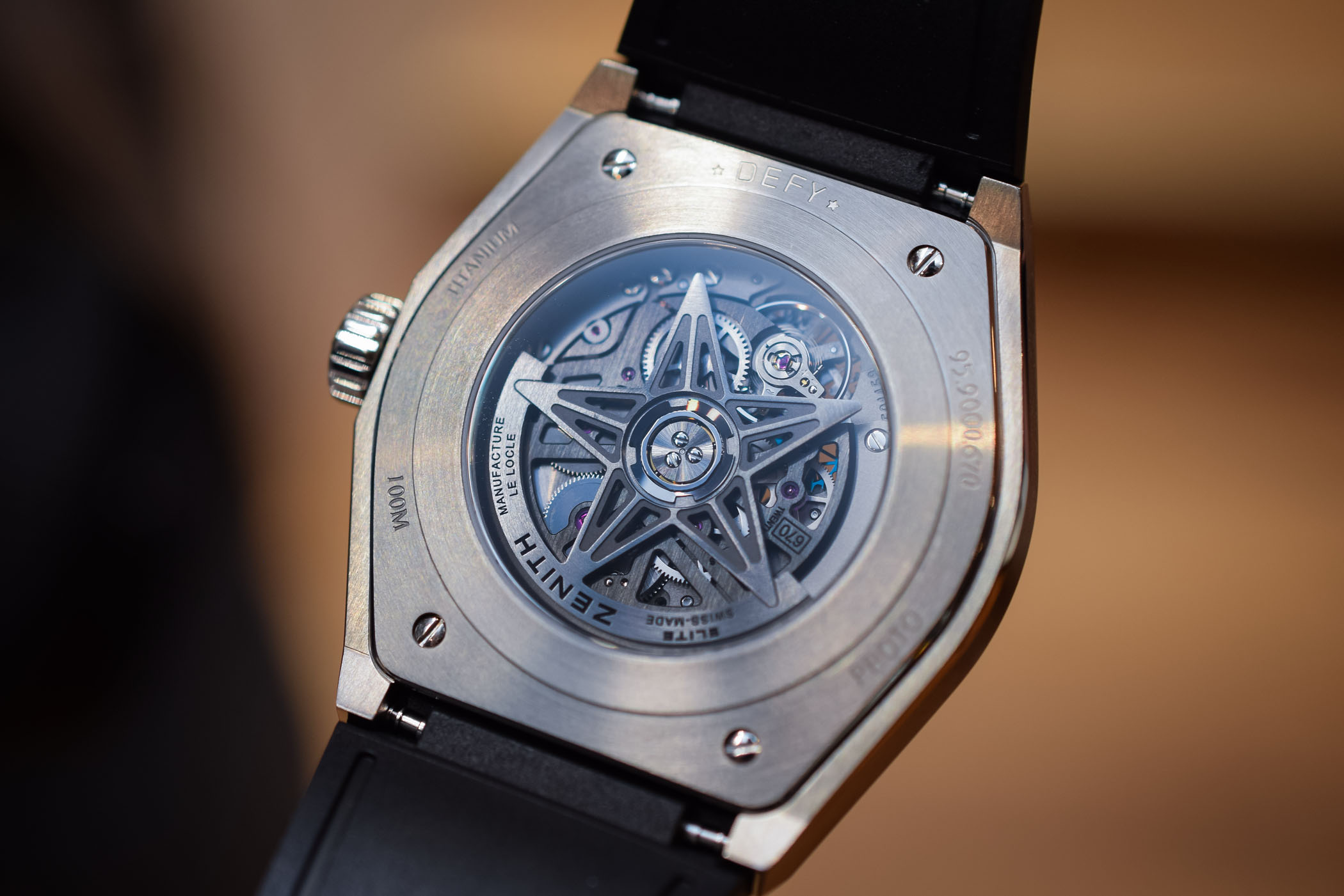 Introducing Zenith Defy Classic Baselworld 2018 Specs