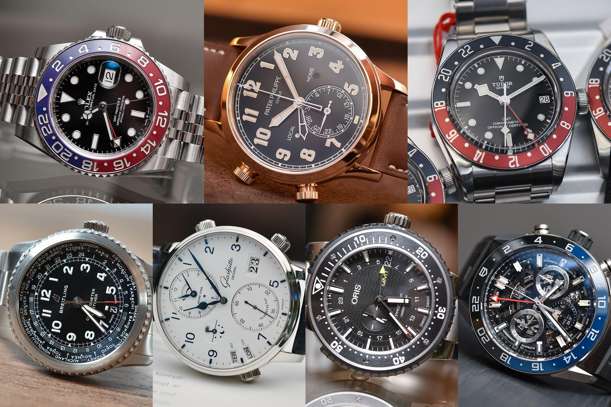 Best GMT Travellers watches Baselworld 2018