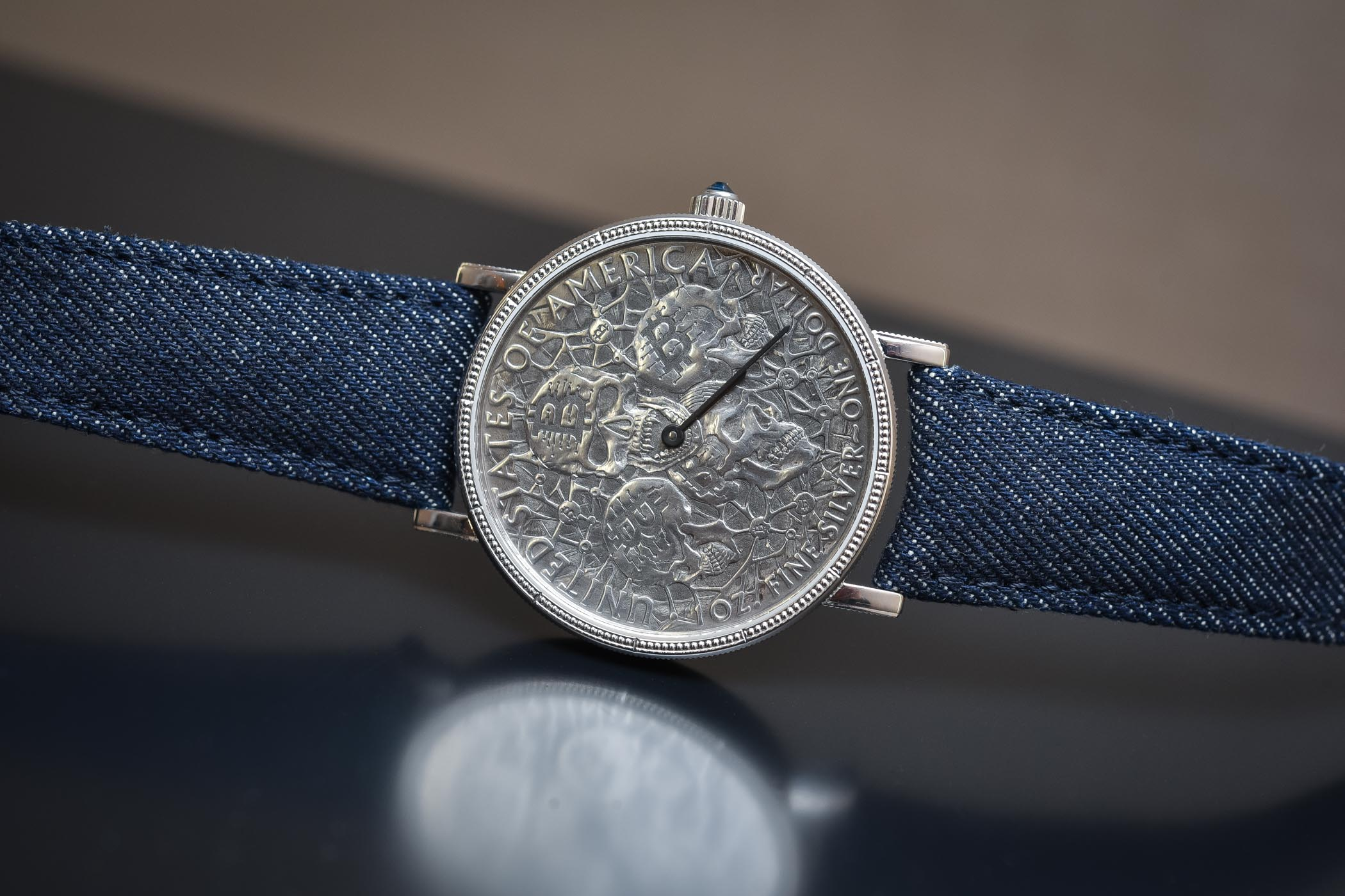 Corum Heritage Artisans Coin-Watch Hobo