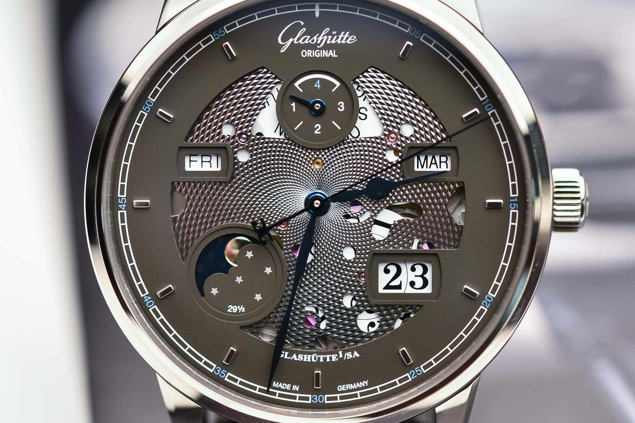 Glashutte Original Senator Excellence Perpetual Calendar Limited Edition Openworked - Baselworld 2018