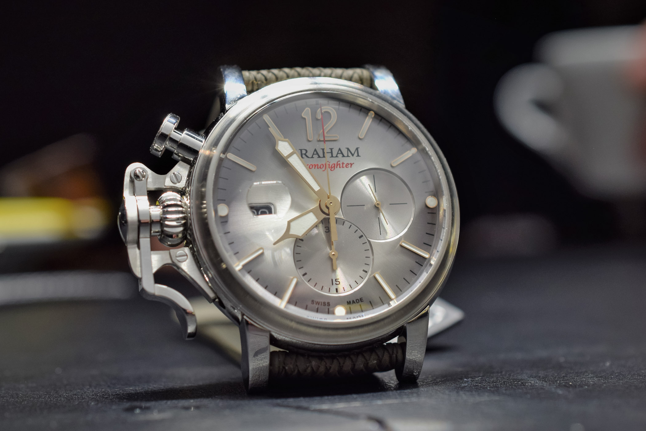 Graham Chronofighter Grand Vintage - Baselworld 2018