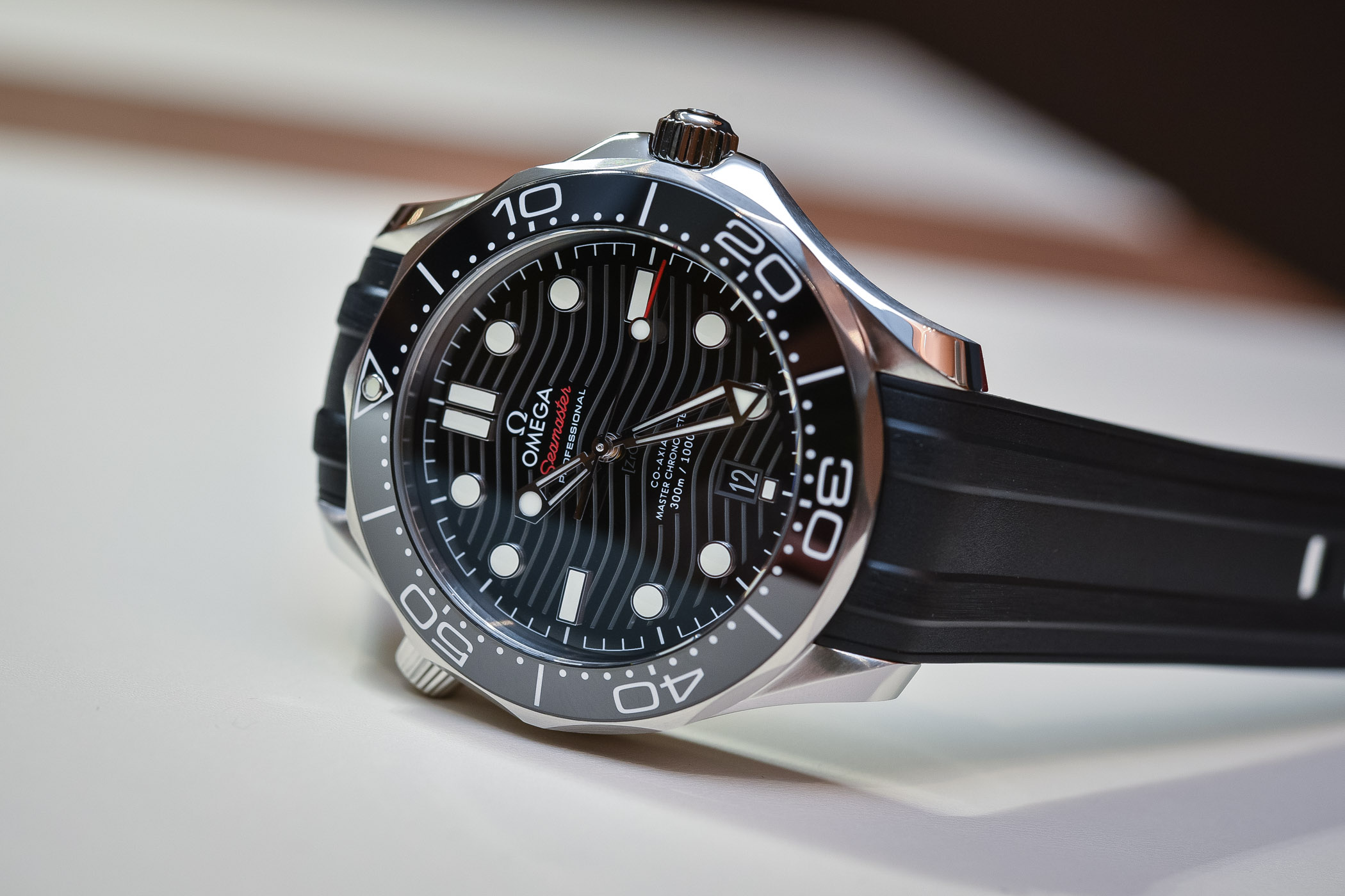 7702df60b79a Hands-On - Omega Seamaster Diver 300M Master Chronometer Baselworld ...