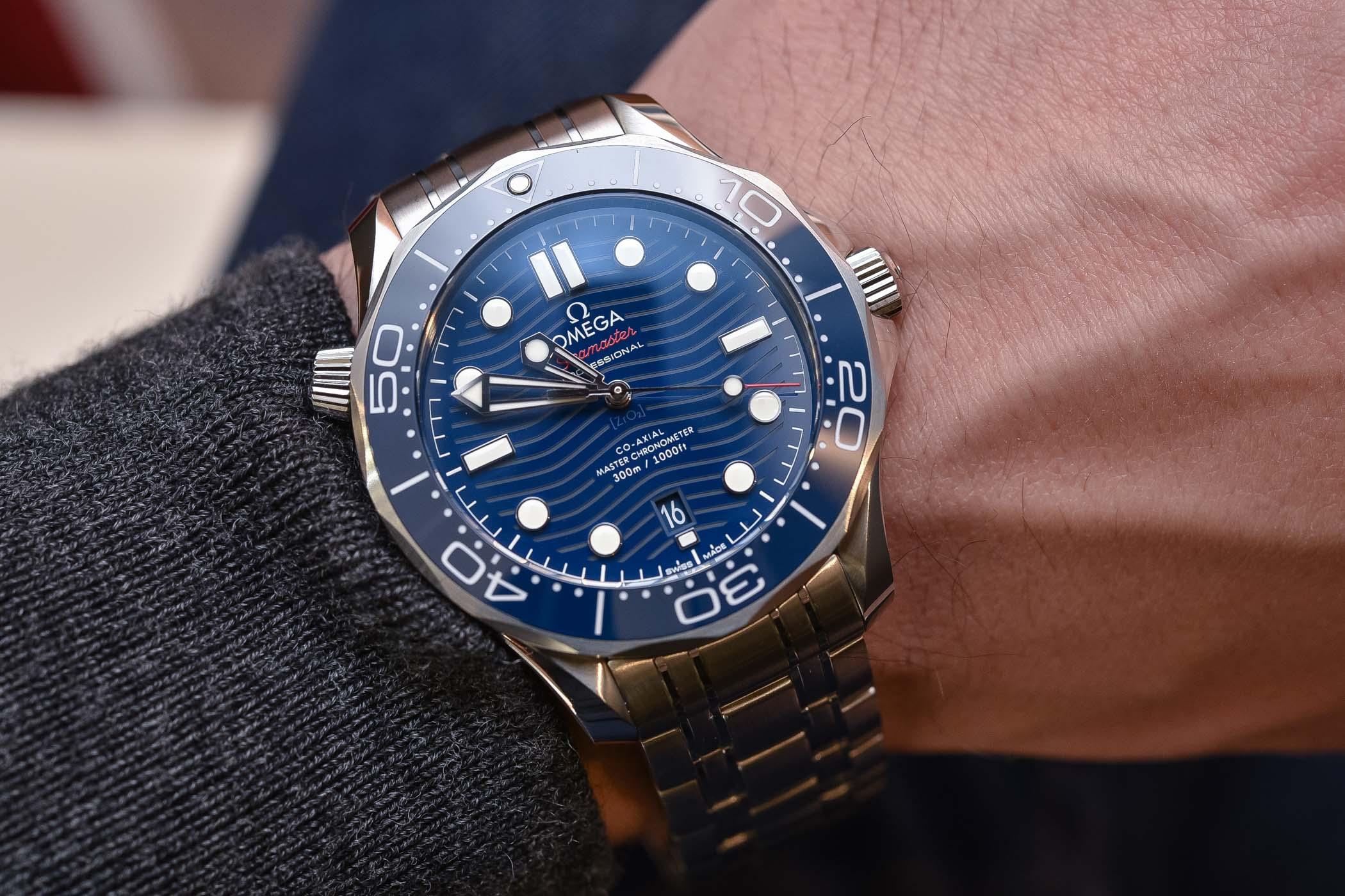 Hands On Omega Seamaster Diver 300m Master Chronometer Baselworld