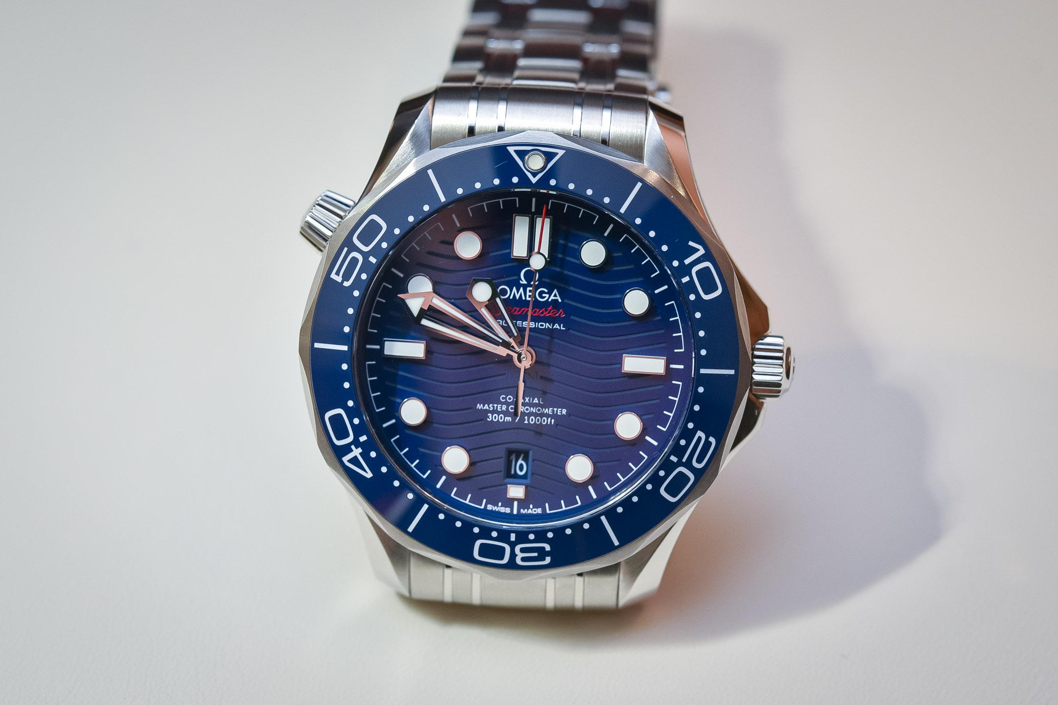 Hands on omega seamaster diver 300m master chronometer - Omega dive watch ...