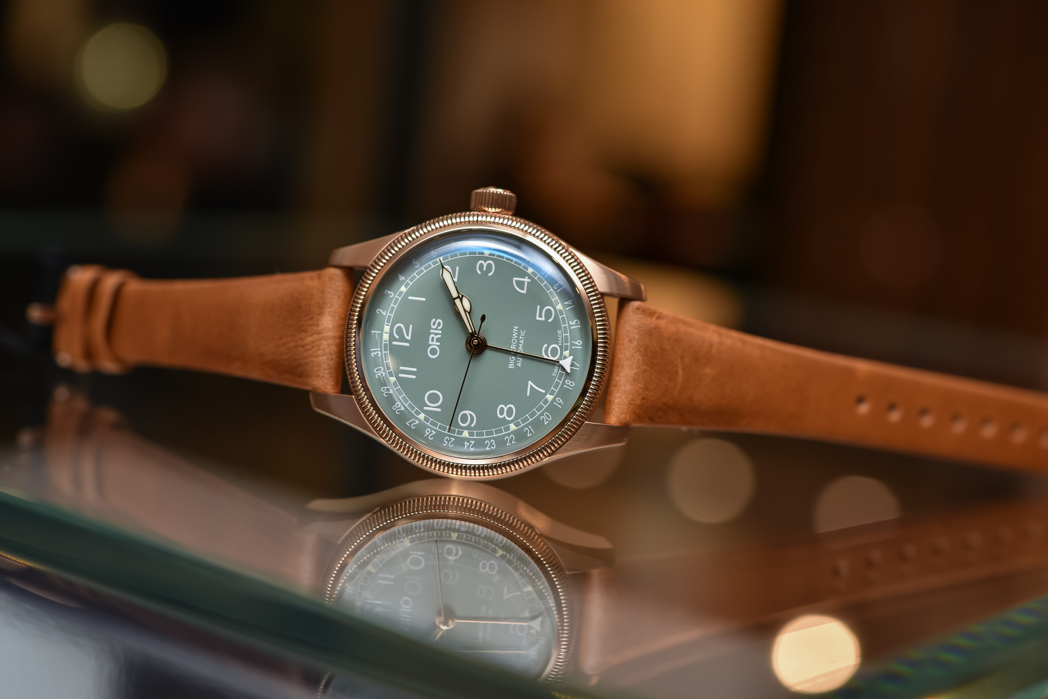 Oris Big Crown Pointer Date Bronze 36mm Baselworld 2018