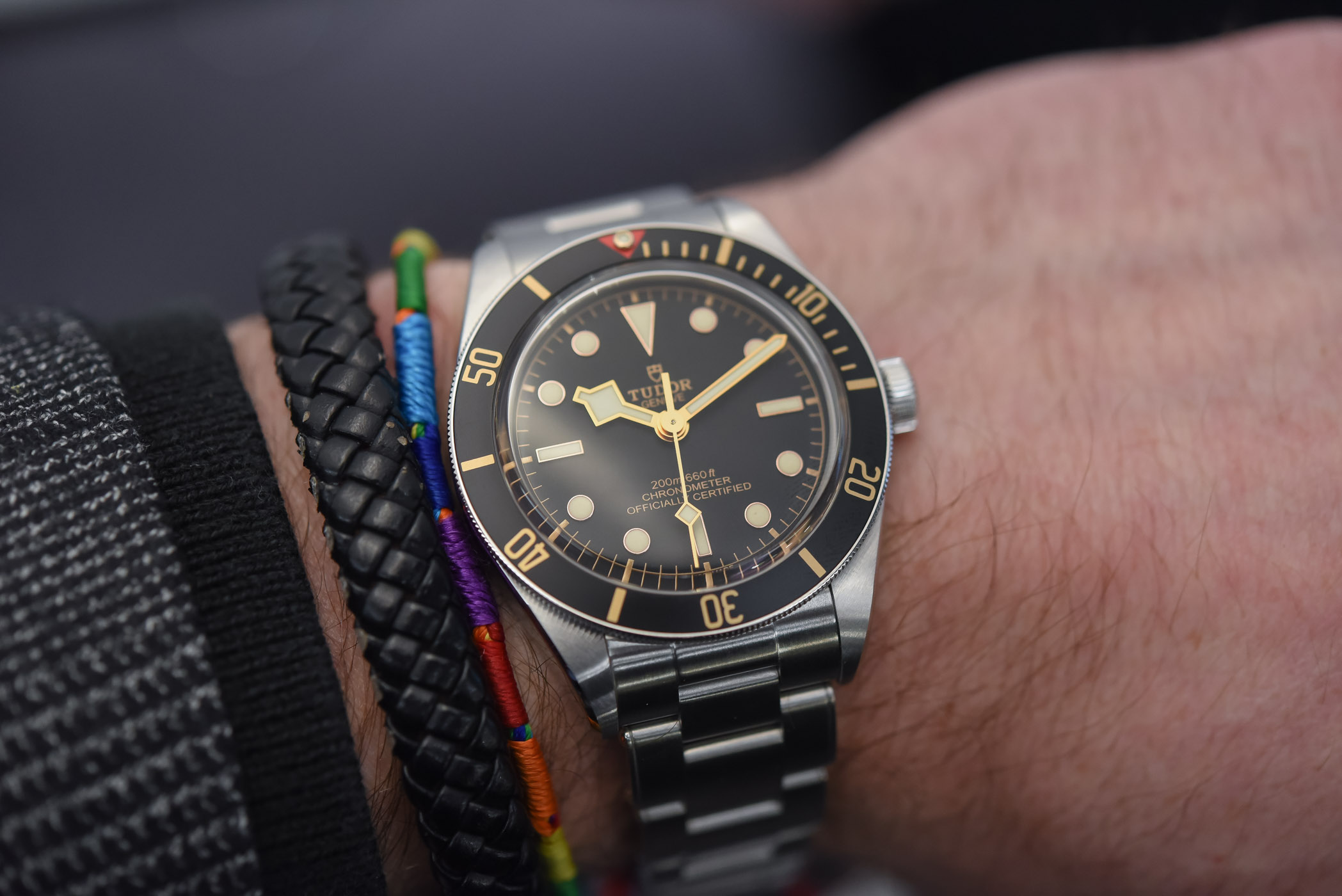 Hands on tudor black bay fifty eight 39mm 79030n baselworld 2018 specs price - Tudor dive watch price ...