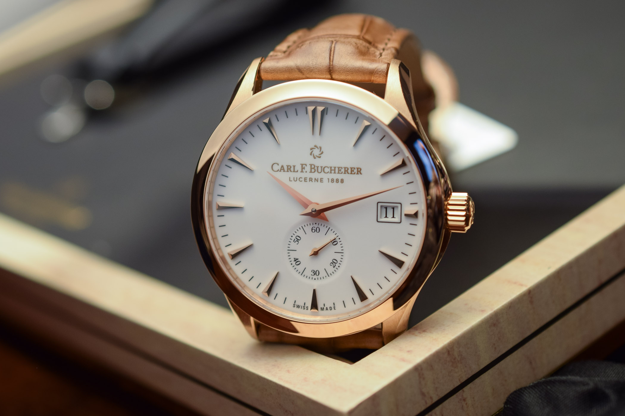 Carl F. Bucherer Manero Peripheral 43mm