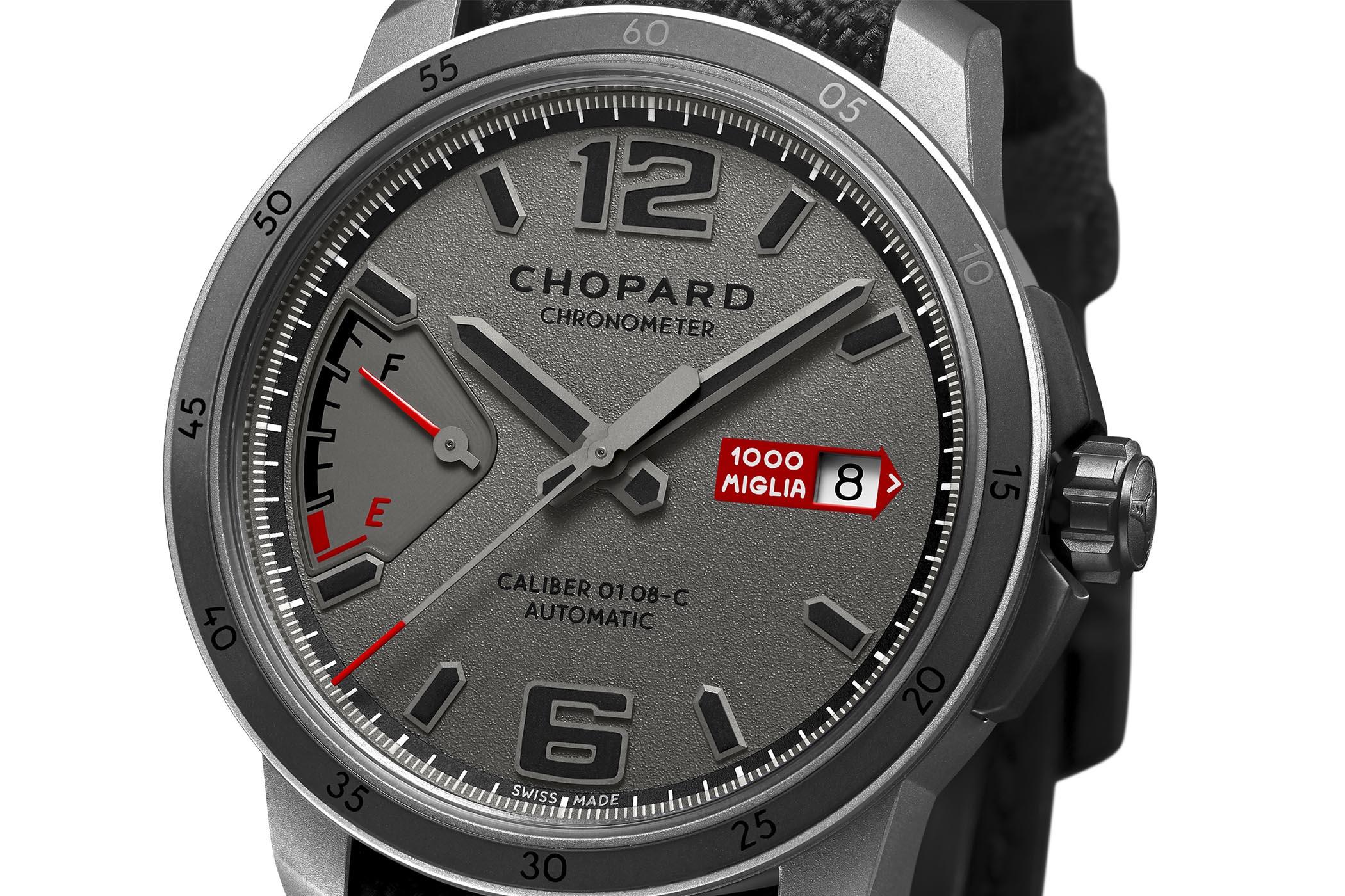Chopard Mille Miglia GTS Power Control Grigio Speciale shotblasted titanium