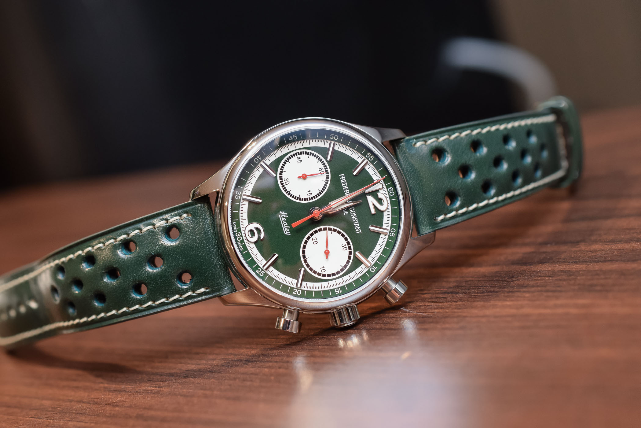 Introducing - Frederique Constant Vintage Rally Healey Chronograph ...