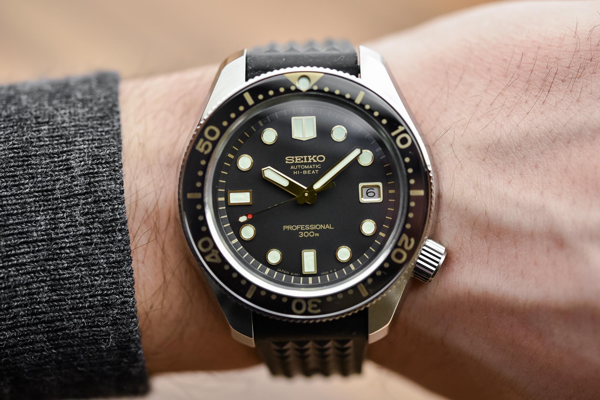 Seiko Prospex Diver 300m Hi-Beat SLA025 – Recreation 1968 Ref. 6159-7001