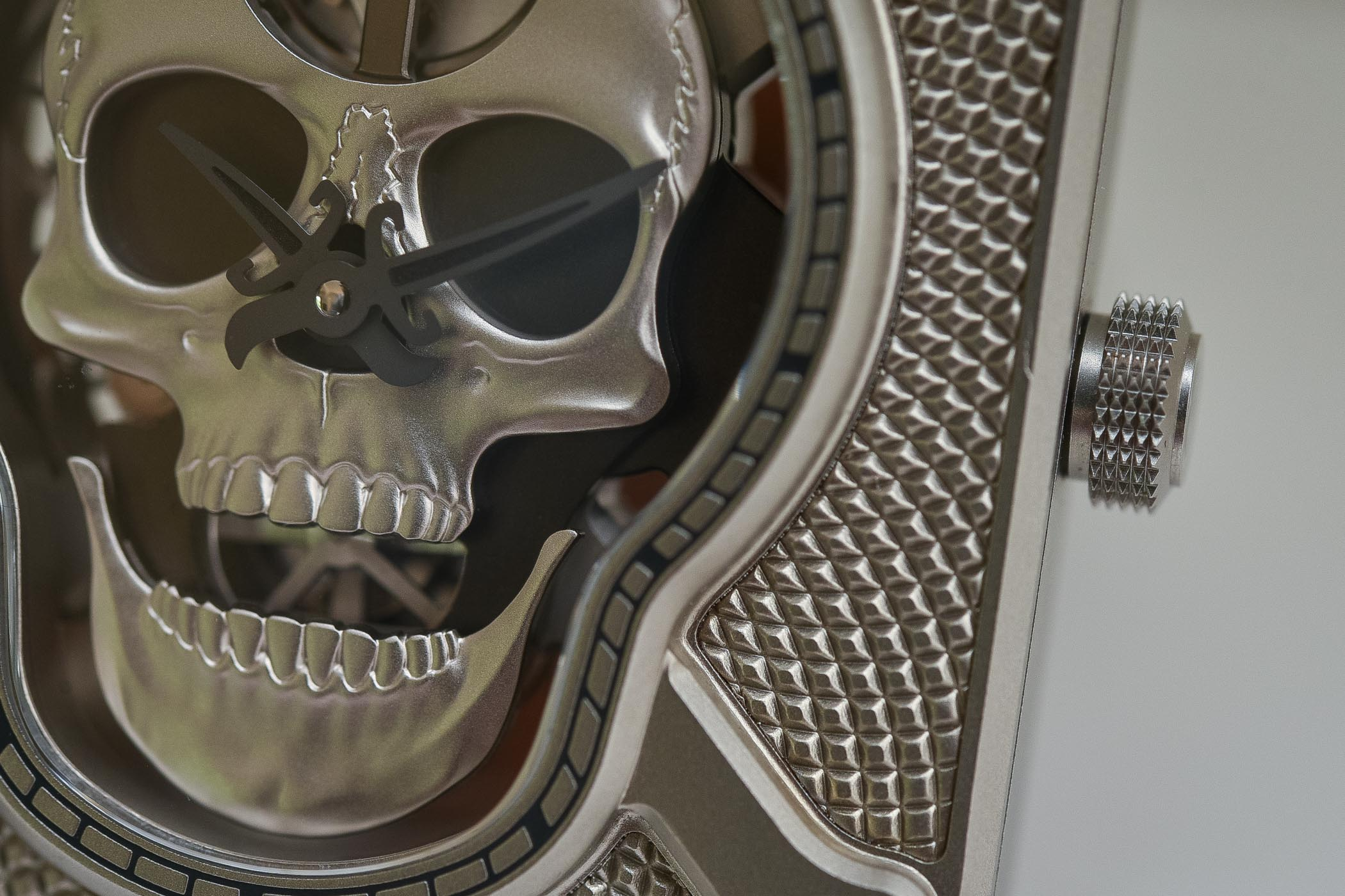 Bell and Ross BR-01 Laughing Skull