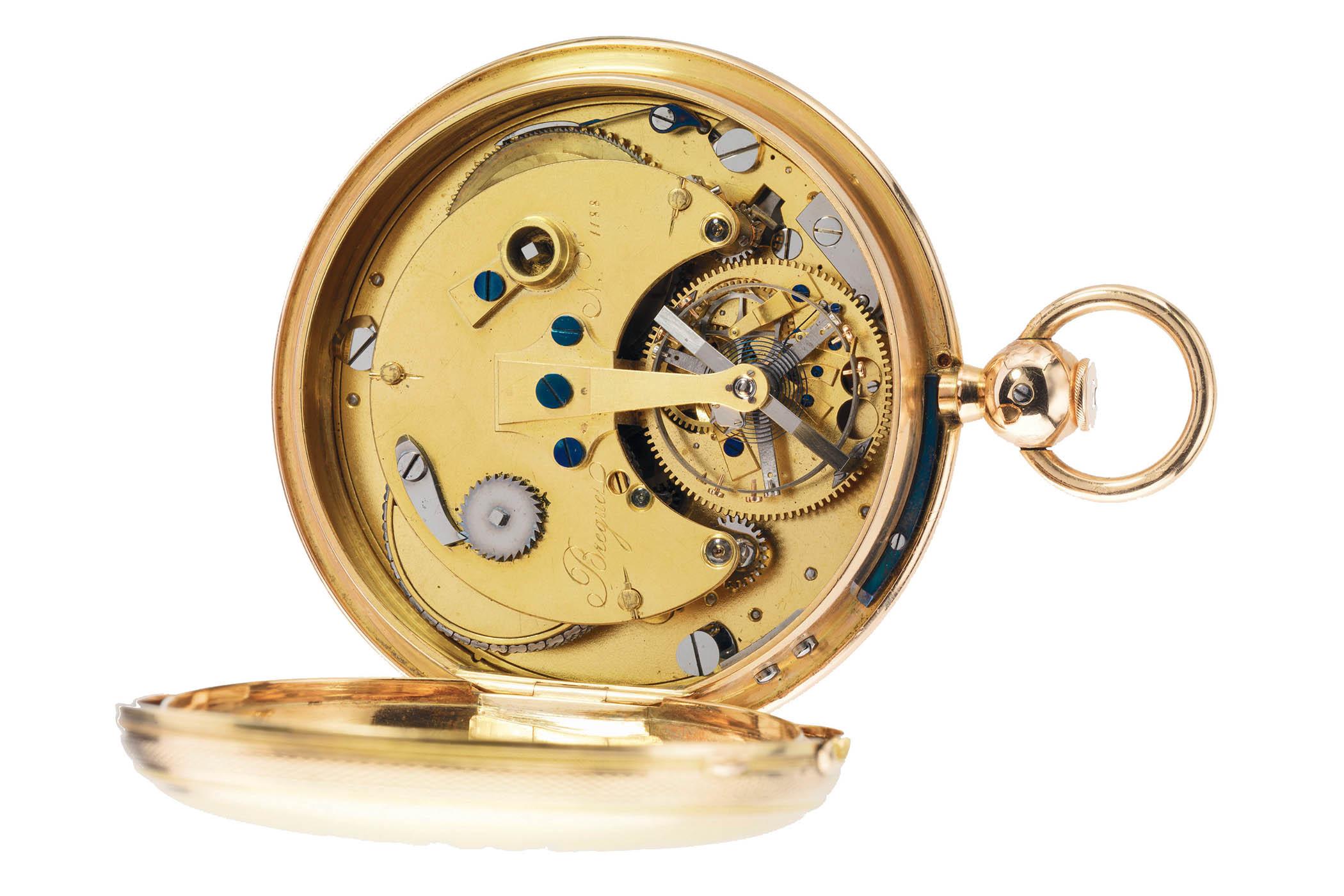 Breguet tourbillon precision pocket-watch No. 1188