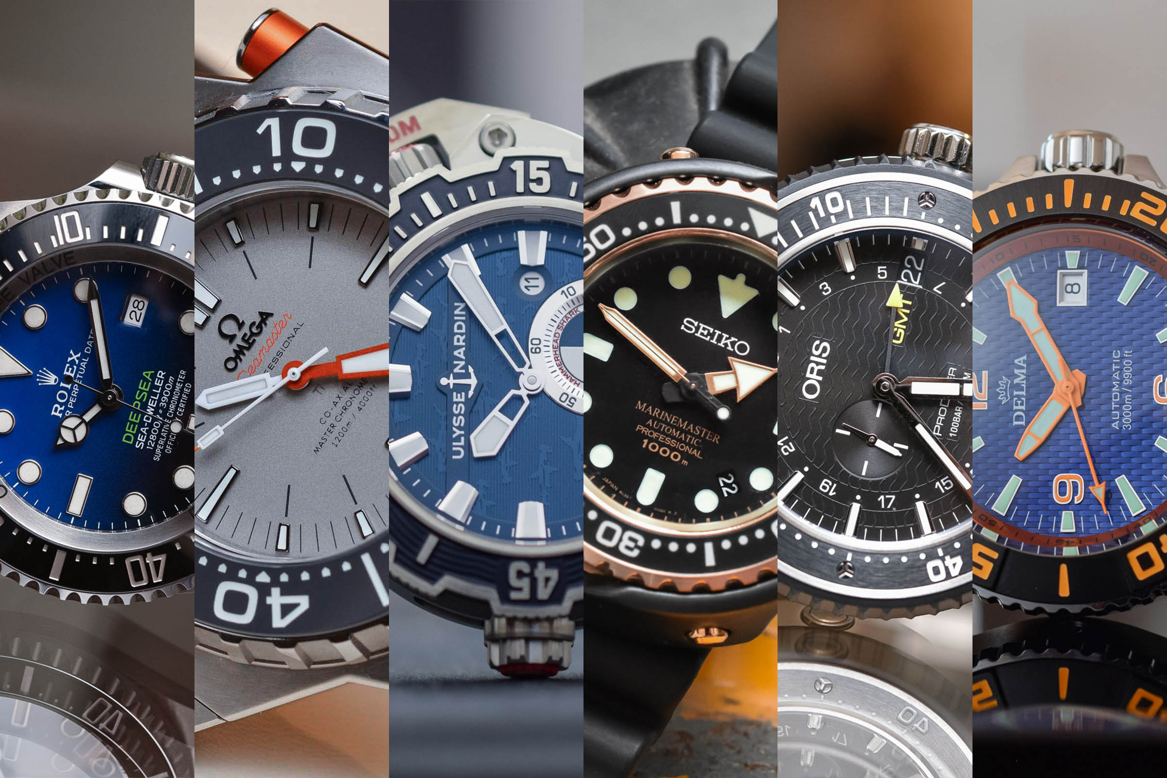 Buying Guide Extreme Deep Dive Watches